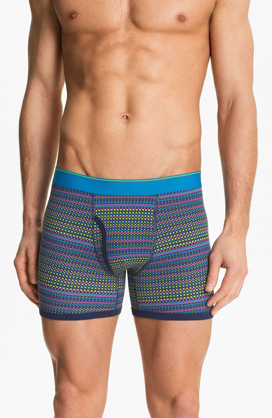 Alternate Image 5  - Basic Underwear Boxer Briefs (3-Pack)