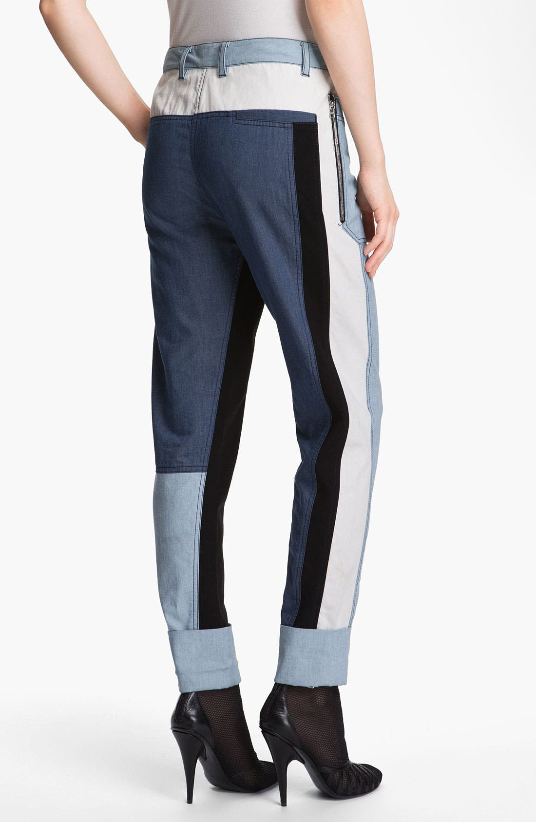 Alternate Image 2  - 3.1 Phillip Lim 'Cut Up' Denim Pants