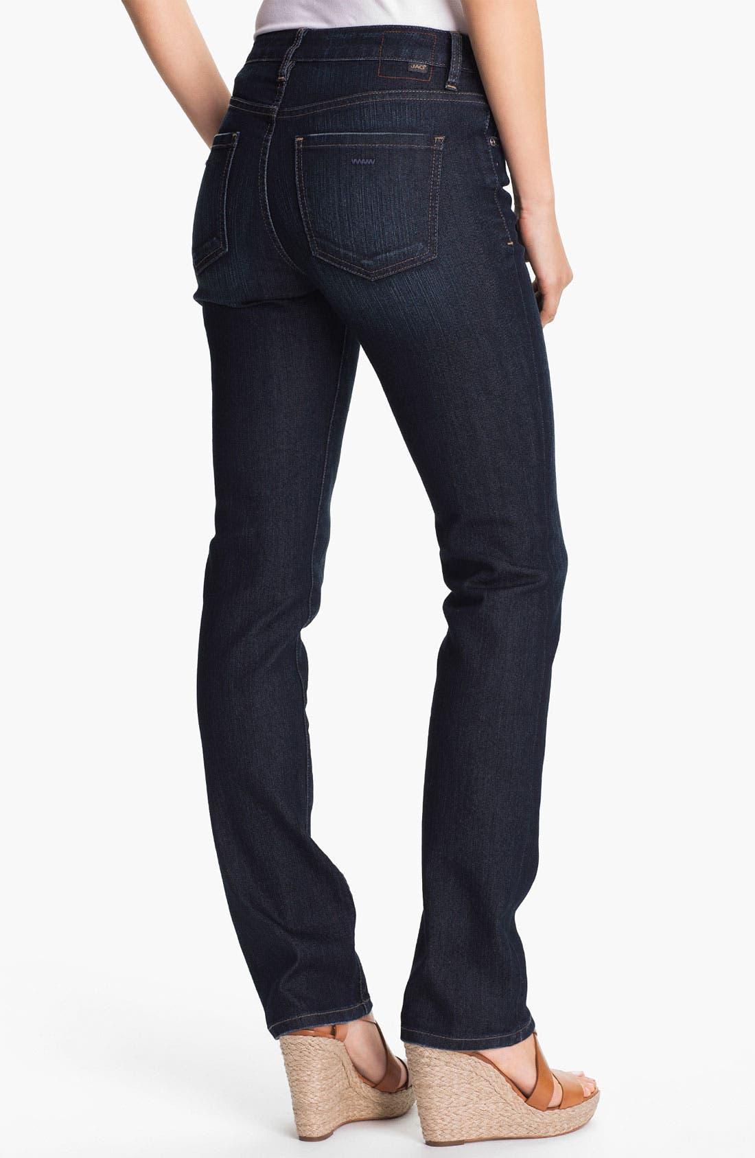 Alternate Image 2  - Jag Jeans 'Jackson' Straight Leg Slub Denim Jeans