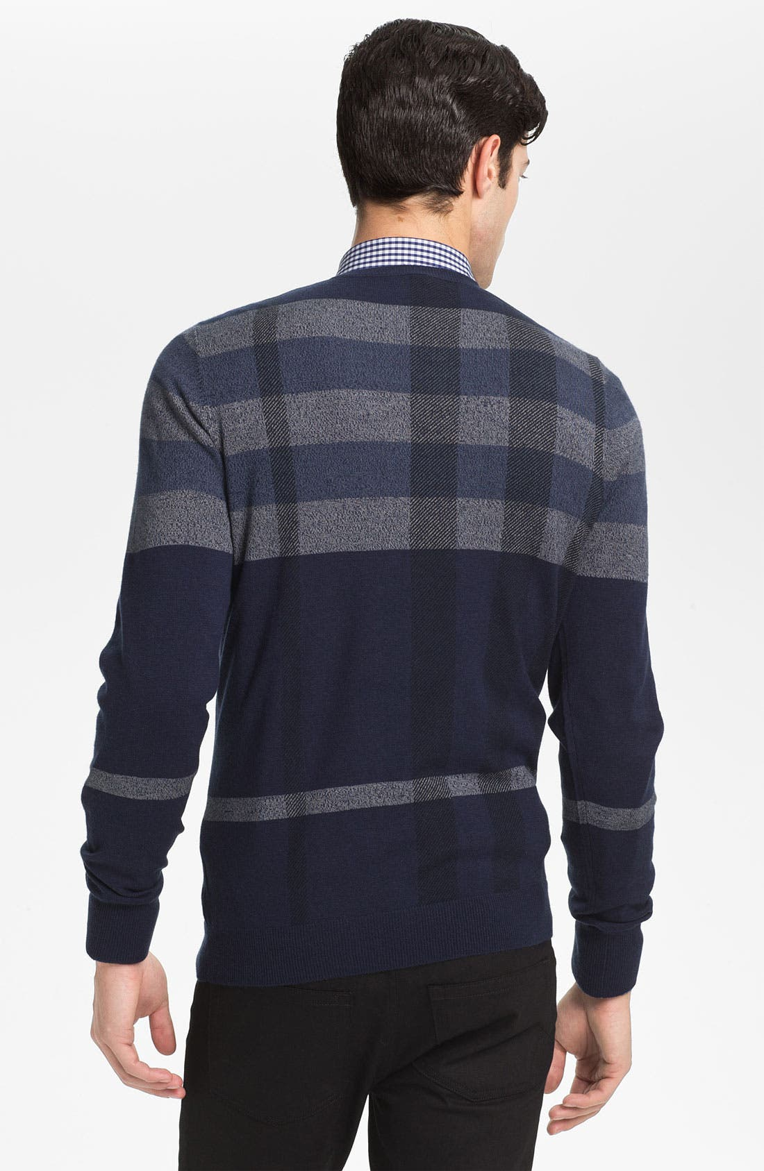 Alternate Image 2  - Burberry London 'Patrick' Wool Blend Sweater