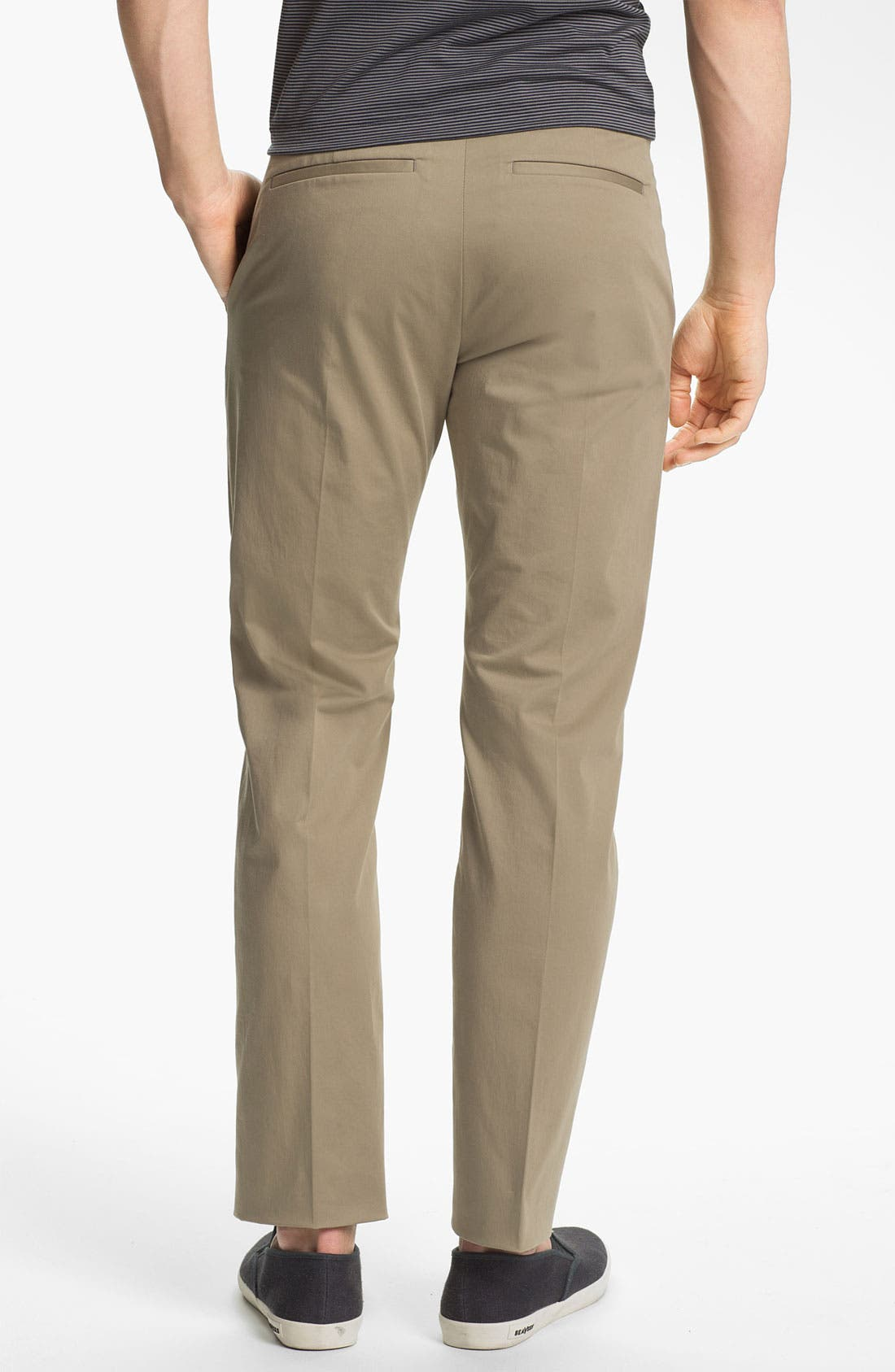 Alternate Image 2  - Theory 'Jake W Ridott' Slim Cotton Blend Pants