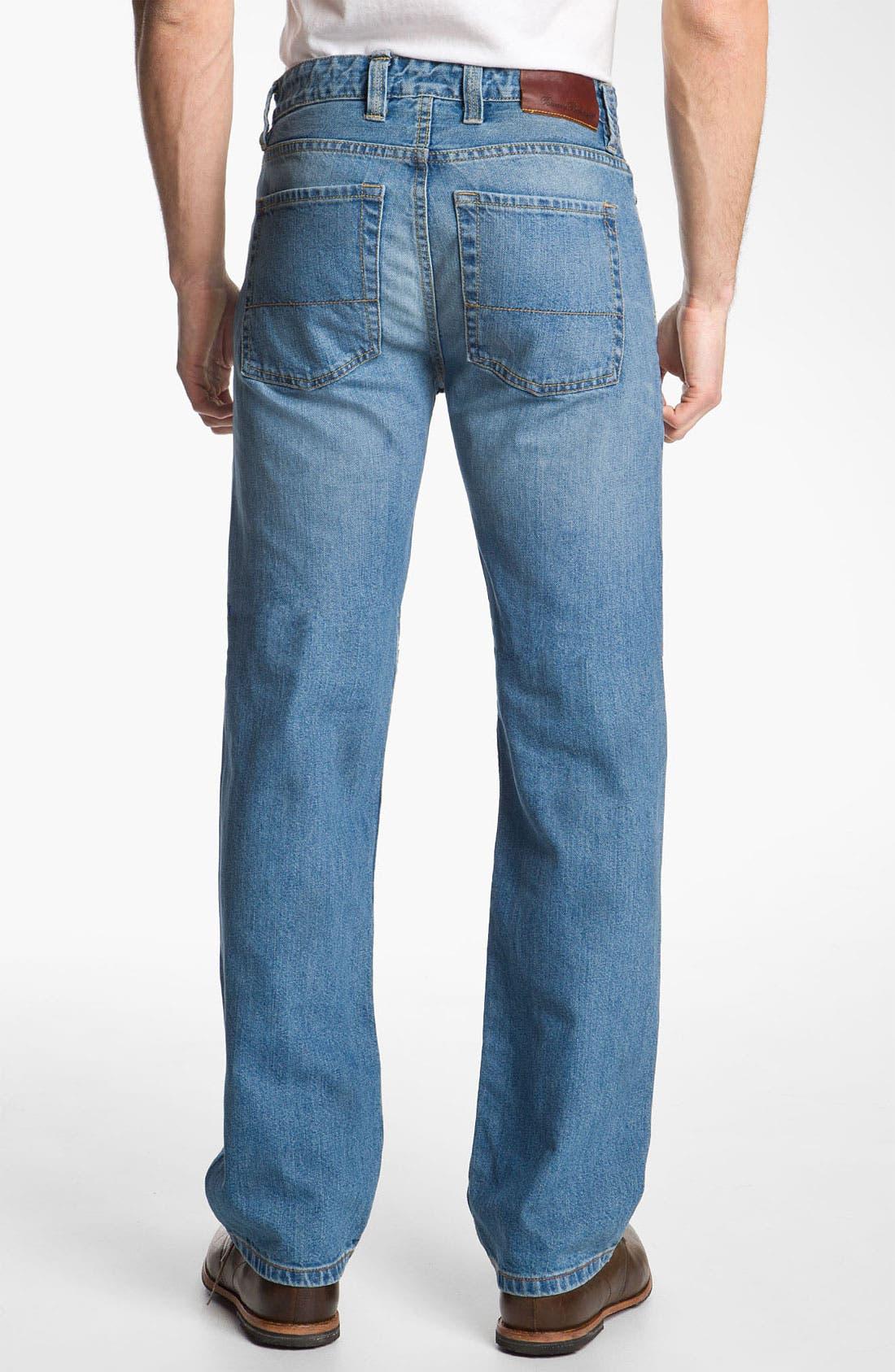 Alternate Image 2  - Tommy Bahama Denim 'Steve Standard Fit' Jeans (Storm)