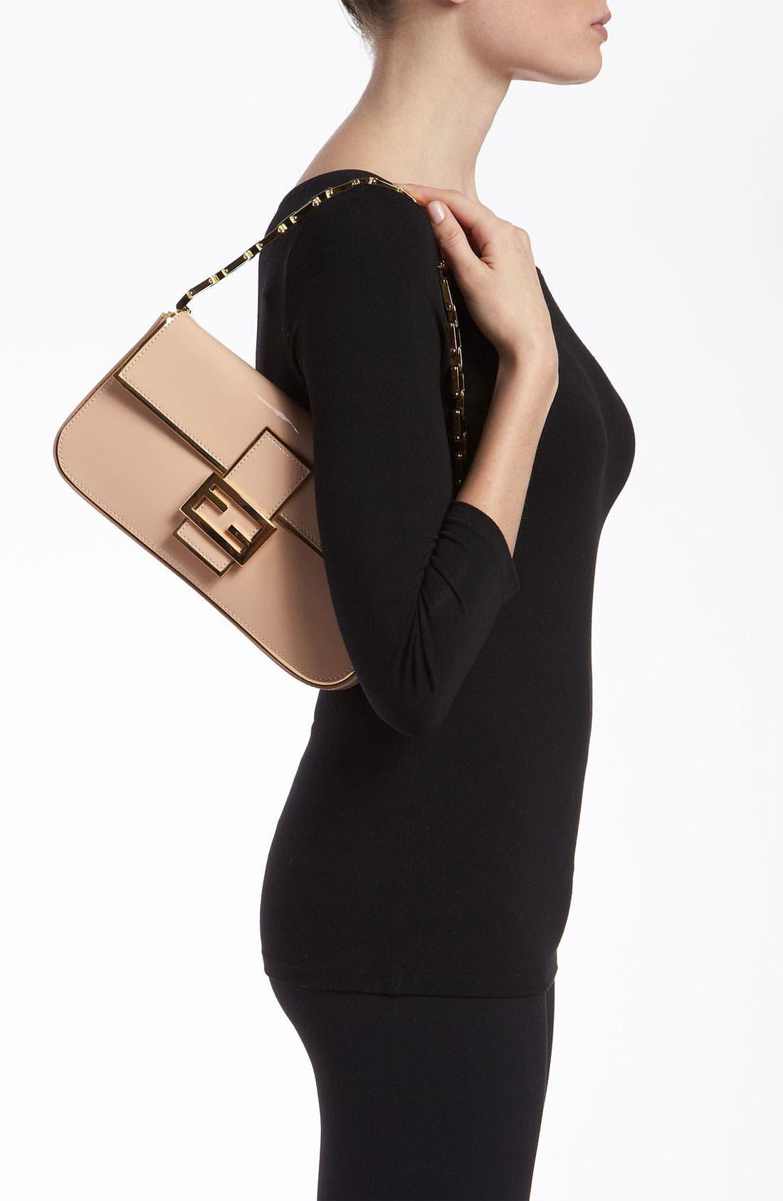 Alternate Image 2  - Fendi Patent Leather Baguette