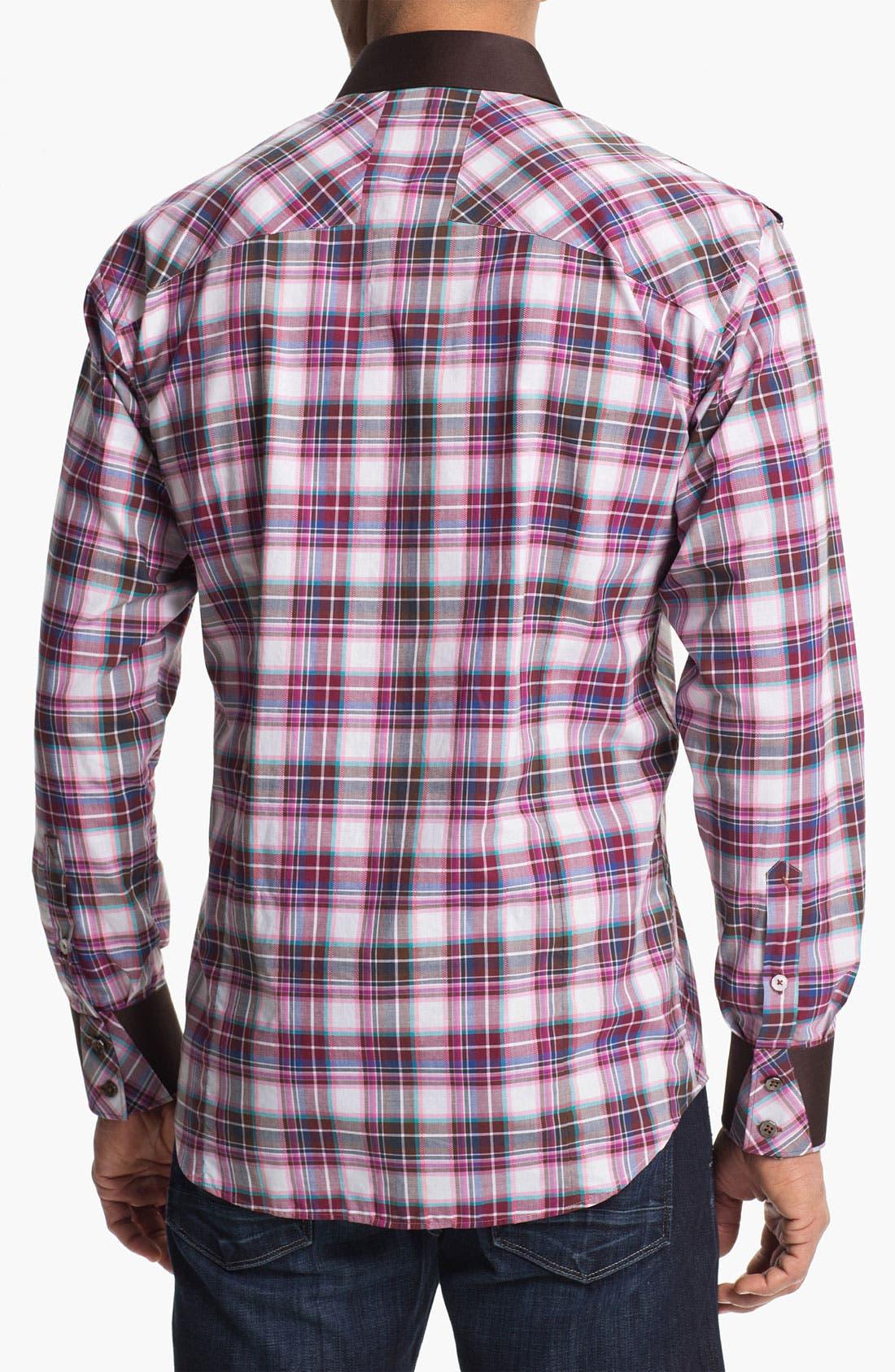 Alternate Image 2  - Bogosse 'Axel 46' Trim Fit Sport Shirt