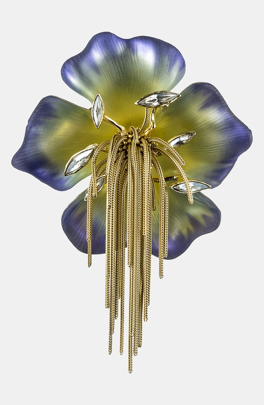 Alternate Image 1 Selected - Alexis Bittar 'Lucite® - Ophelia' Pansy Pin