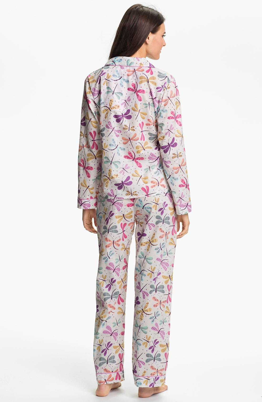 Alternate Image 2  - PJ Salvage 'Playful Prints' Woven Pajamas