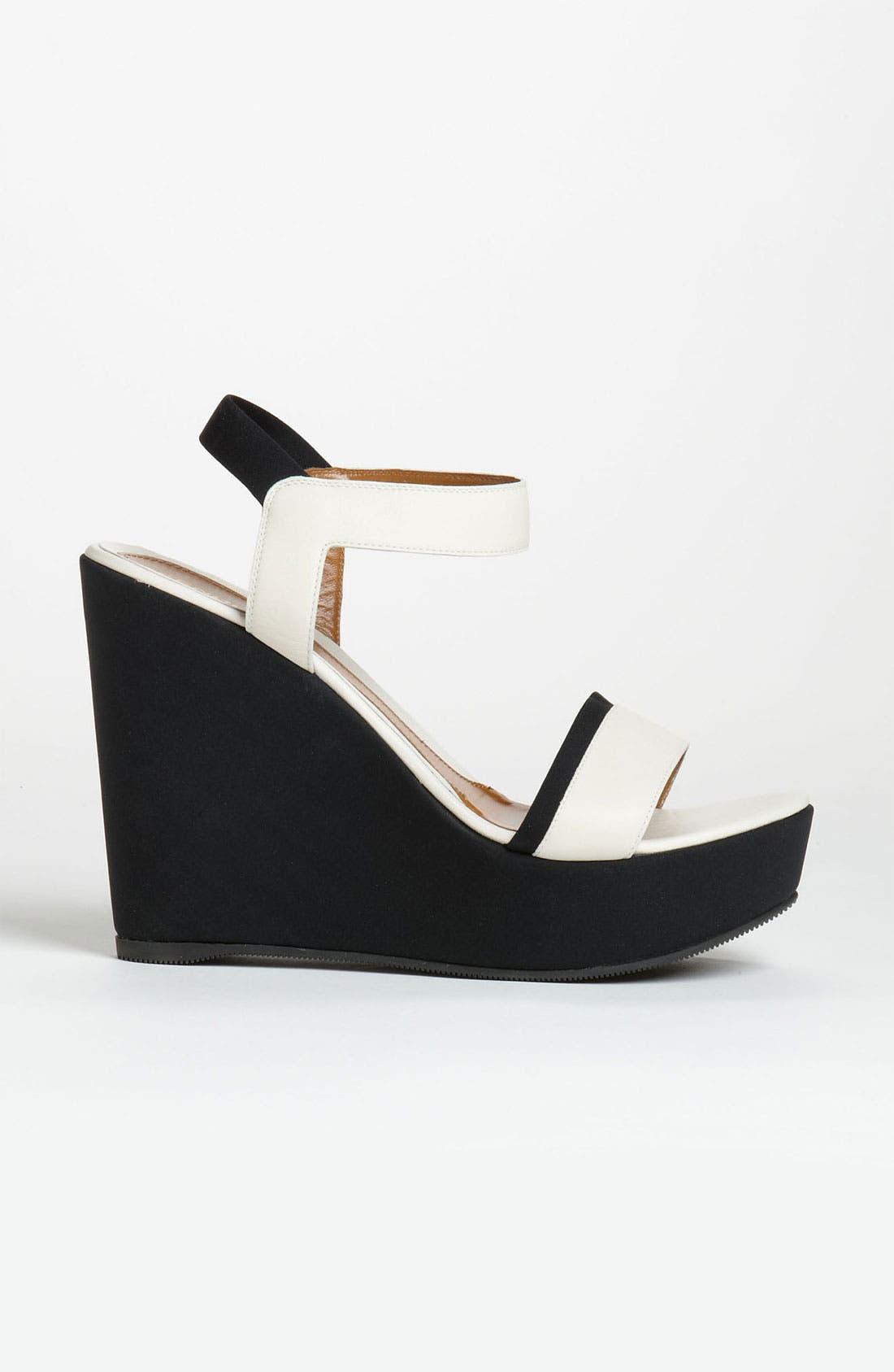 Alternate Image 4  - Fendi Ankle Strap Wedge Sandal