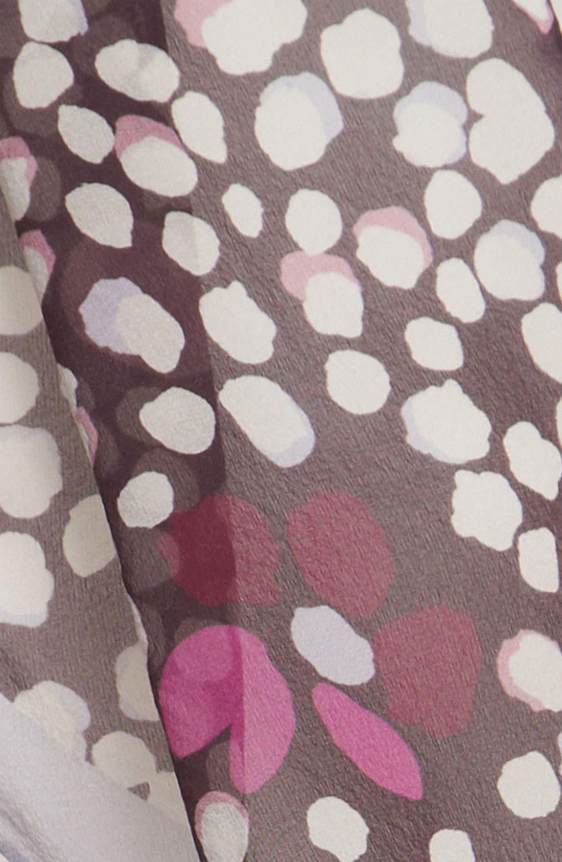 Alternate Image 2  - Burberry Print Silk Oblong Scarf