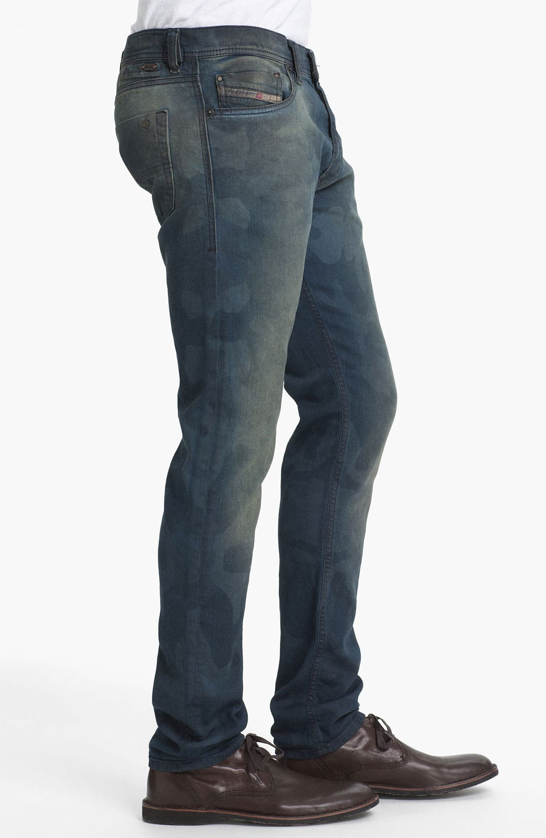 Alternate Image 3  - DIESEL® 'Tepphar' Camo Slim Tapered Leg Jeans