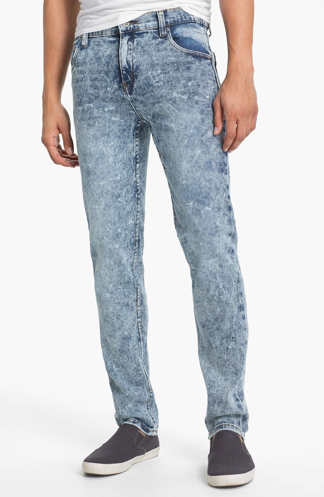 Alternate Image 2  - Cheap Monday Tight Skinny Leg Jeans (Skin Used)
