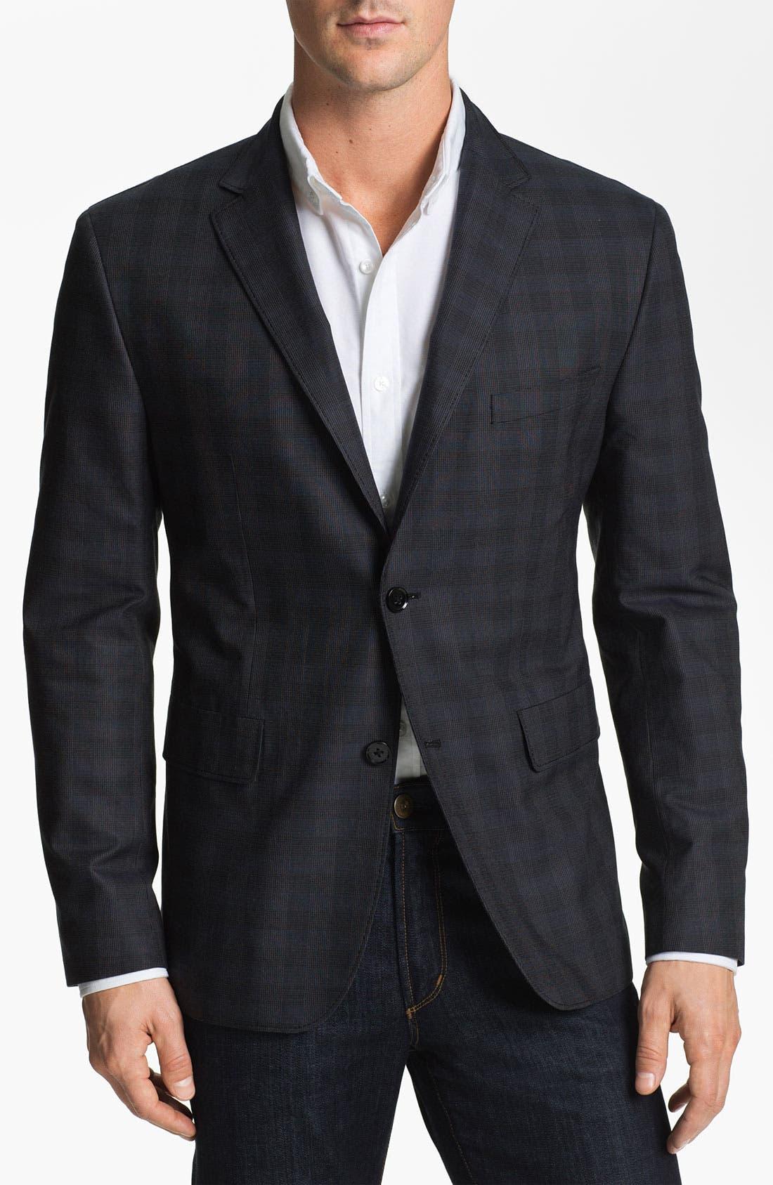 Alternate Image 1 Selected - BOSS Black 'Coastus' Regular Fit Sportcoat