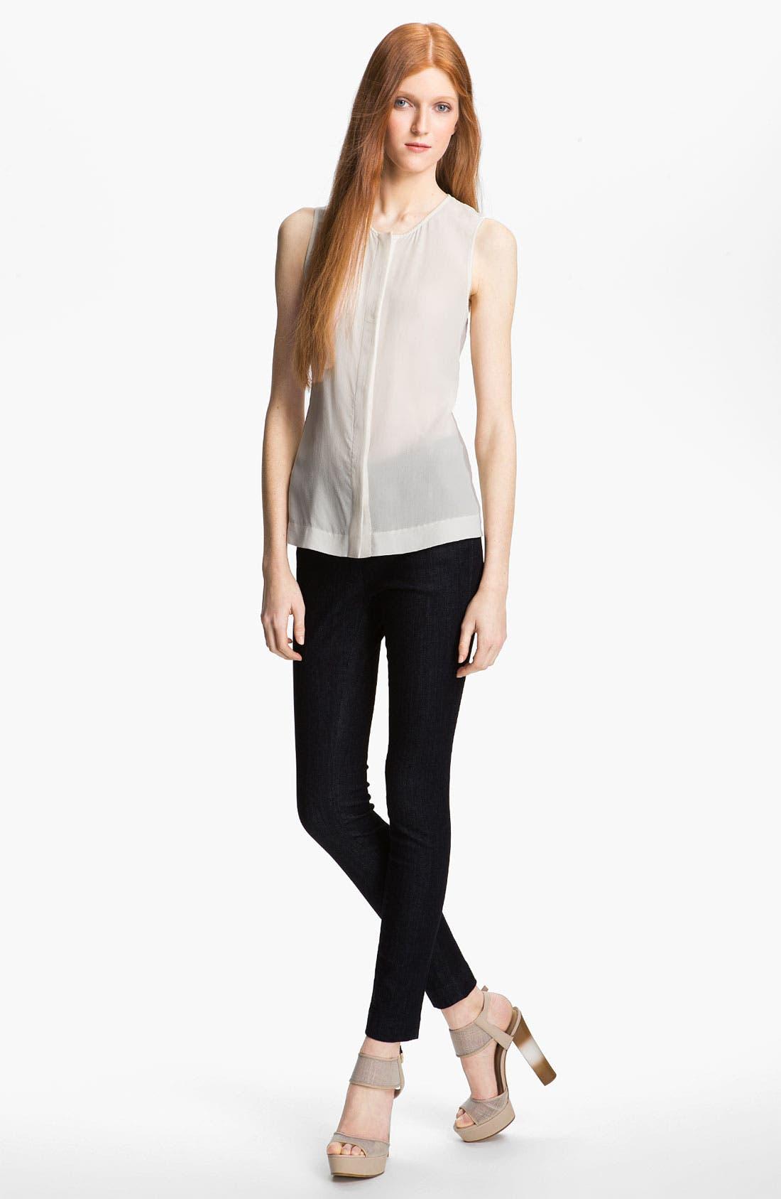 Alternate Image 2  - Rachel Zoe 'Angela' Sheer Silk Top