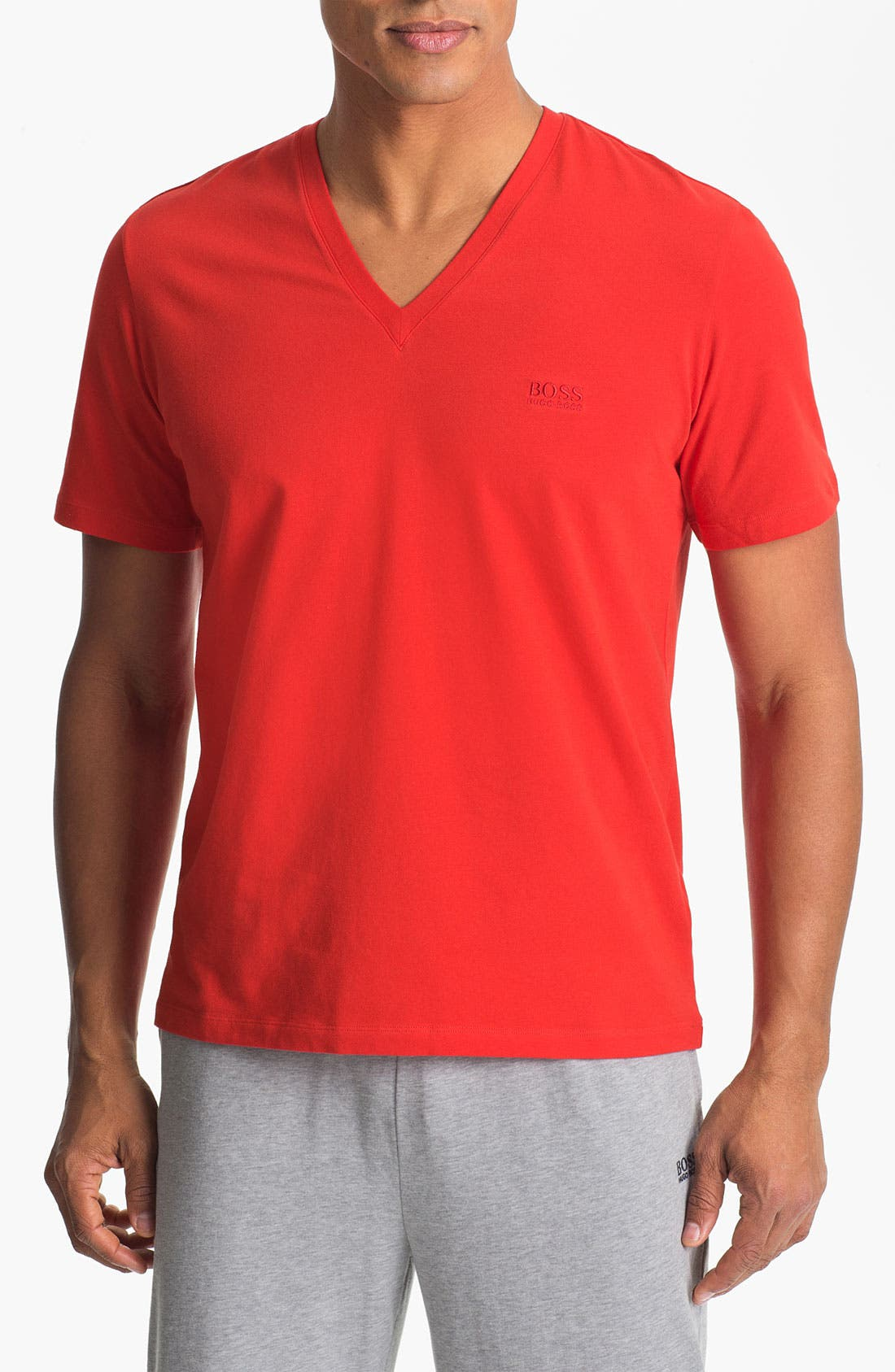 Main Image - BOSS HUGO BOSS 'Innovation' V-Neck T-Shirt