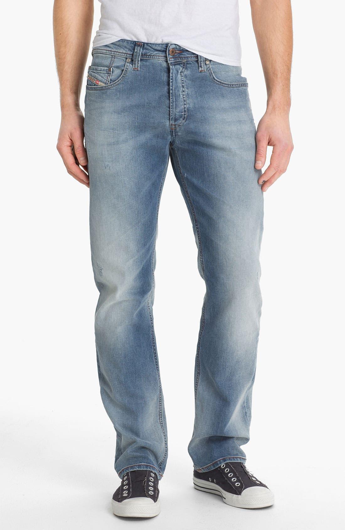 Alternate Image 2  - DIESEL® 'Larkee' Relaxed Straight Leg Jeans (0811E)