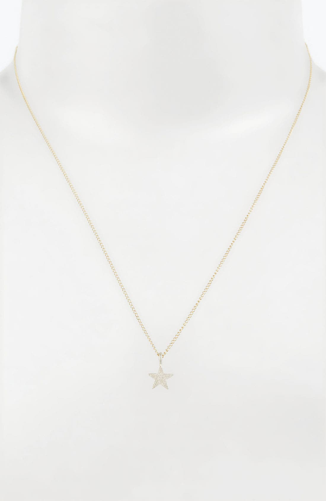 Alternate Image 2  - Dogeared 'Sparkle like a Star' Star Pendant Necklace
