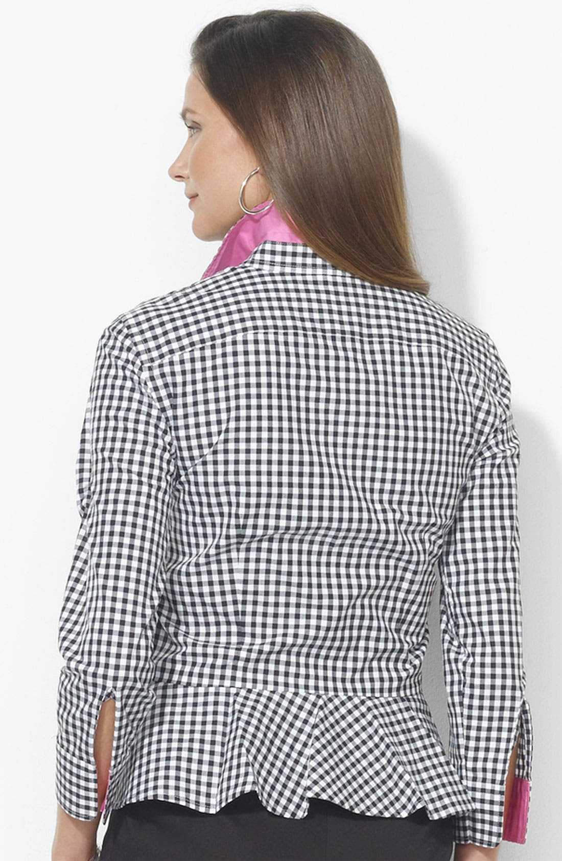 Alternate Image 2  - Lauren Ralph Lauren Peplum Blouse