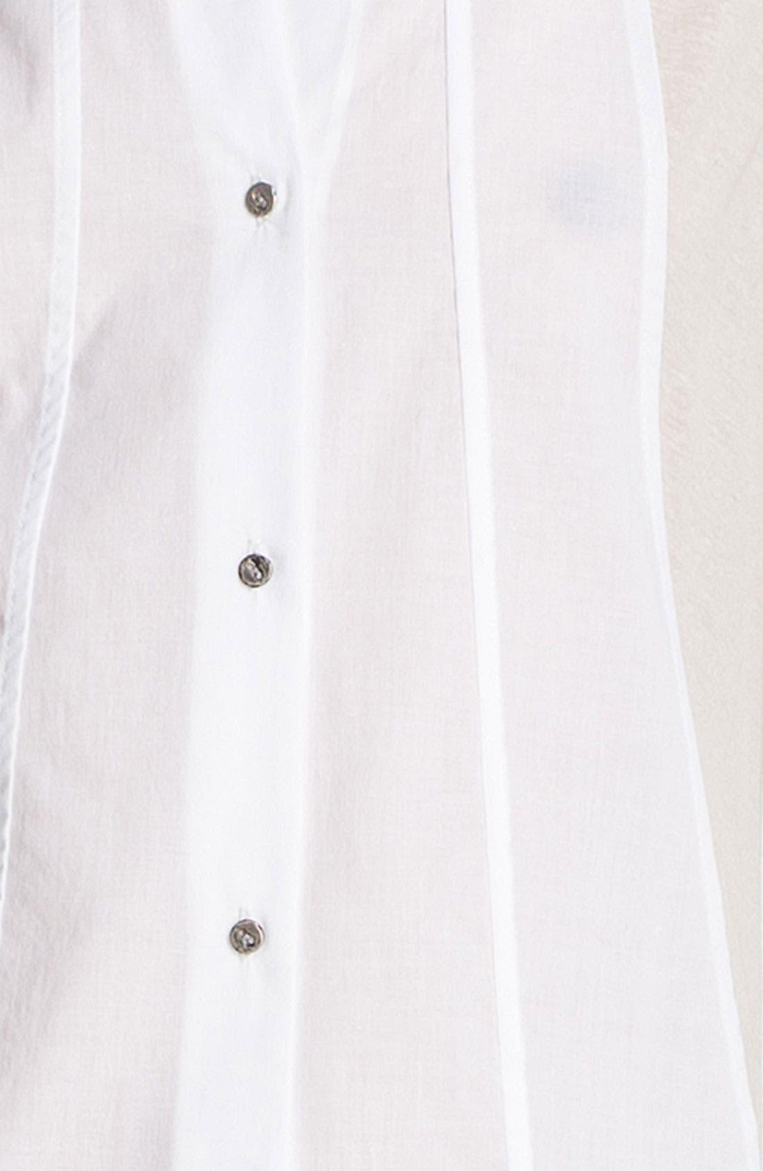 Alternate Image 4  - HELMUT Helmut Lang Sleeveless Poplin Shirt