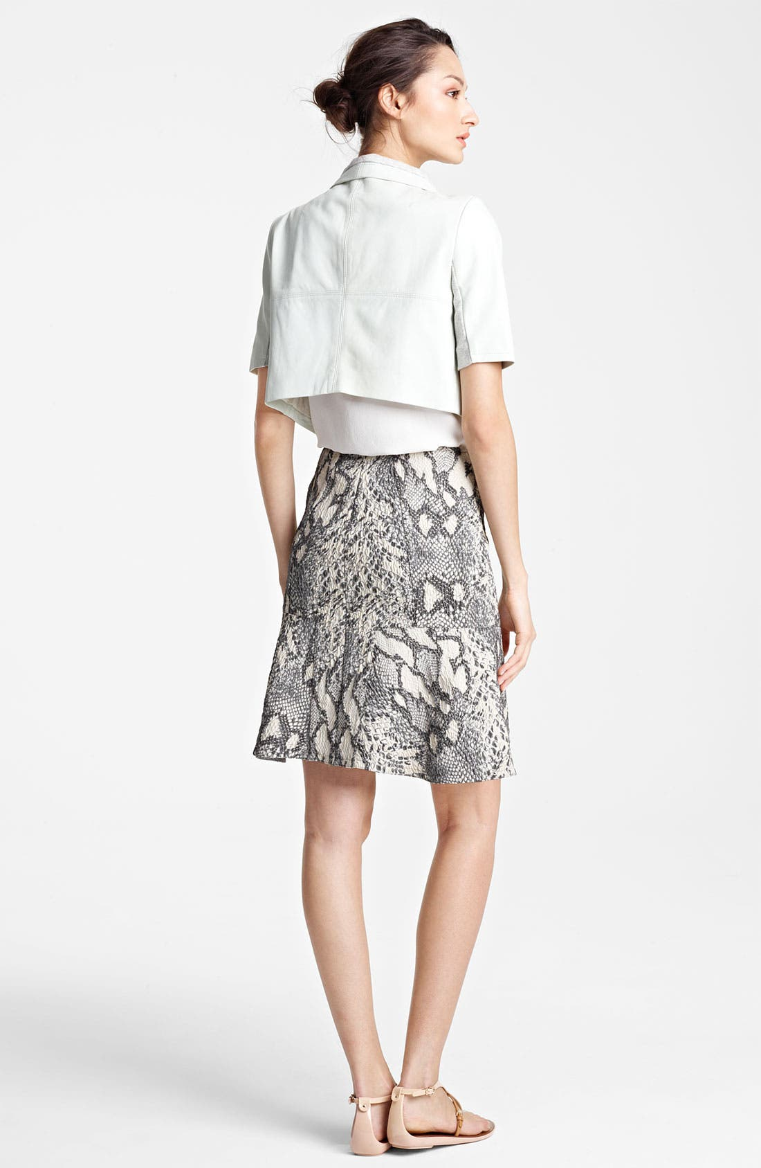 Alternate Image 4  - Yigal Azrouël Jacquard Skirt