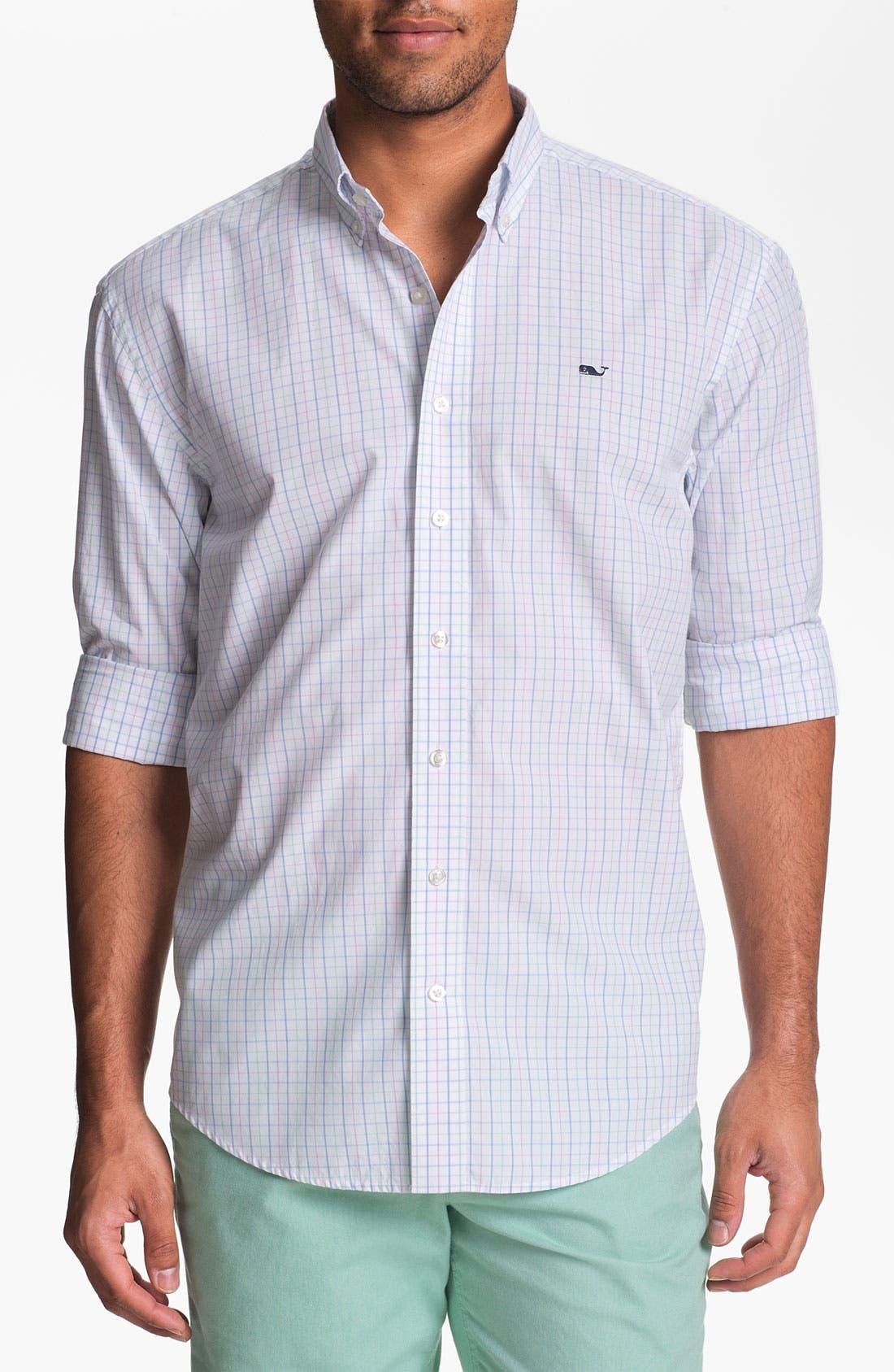 Alternate Image 1 Selected - Vineyard Vines 'Cades Bay' Regular Fit Sport Shirt