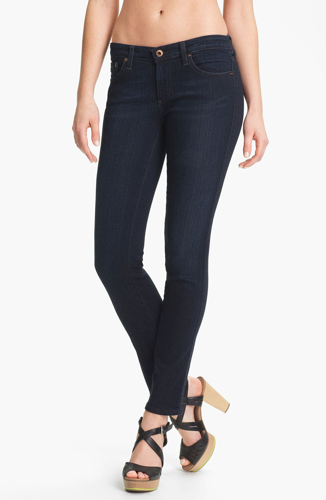 Alternate Image 1 Selected - AG Jeans 'Stilt' Cigarette Leg Stretch Jeans (Jetsetter)
