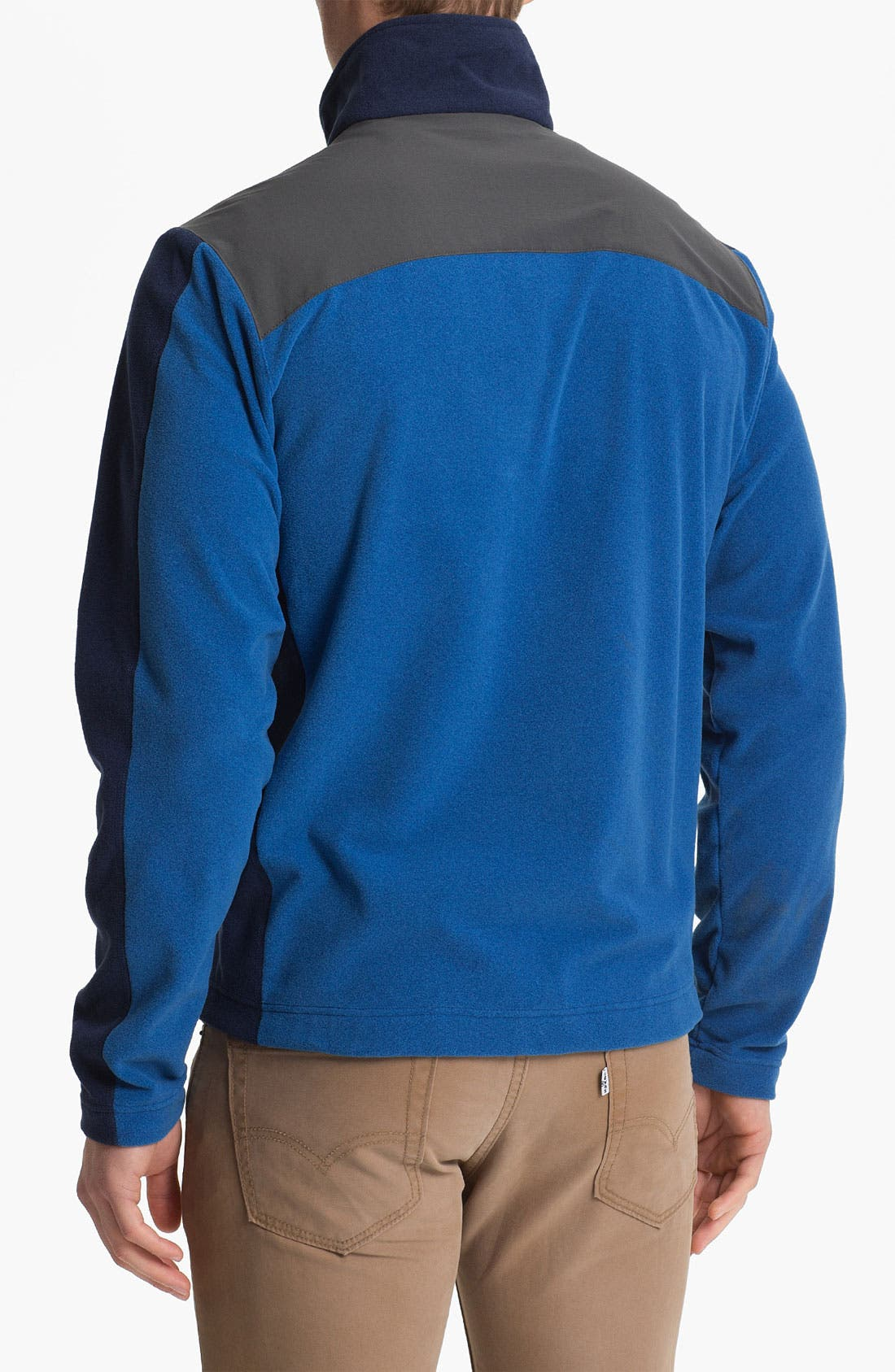 Alternate Image 2  - Patagonia 'Cedars' Zip Fleece Jacket