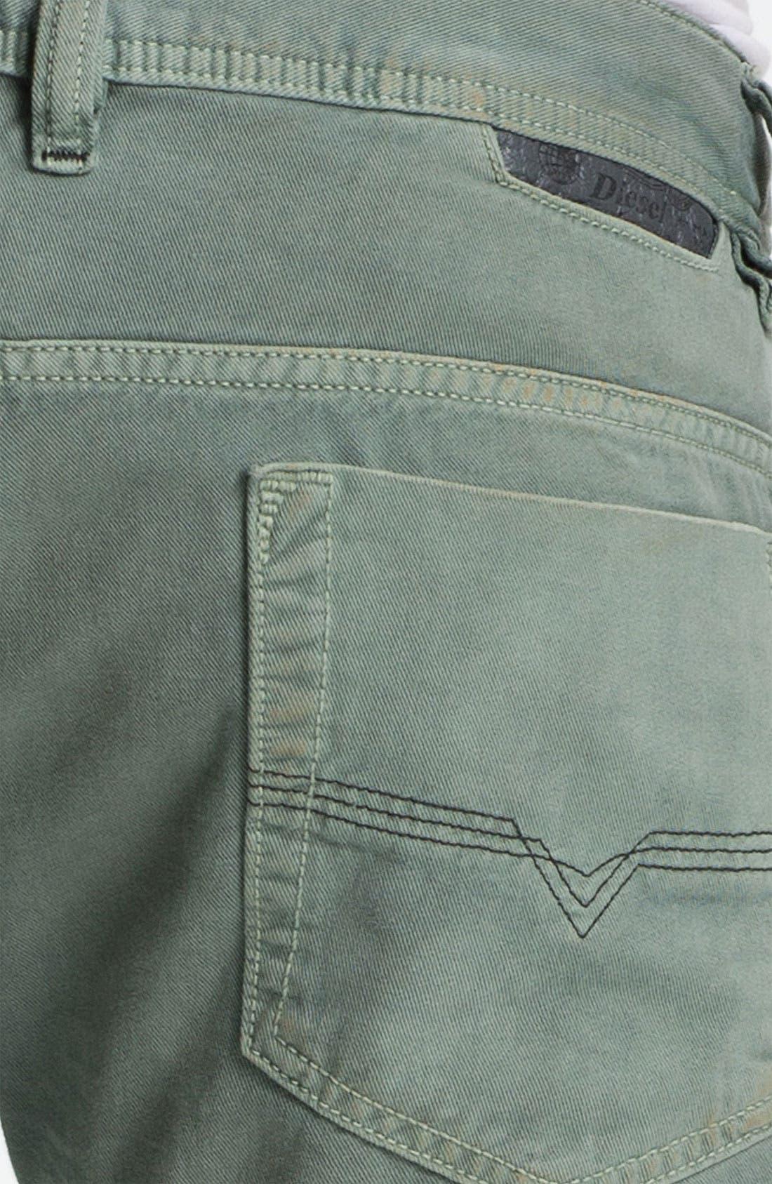 Alternate Image 4  - DIESEL® 'Safado' Straight Leg Jeans