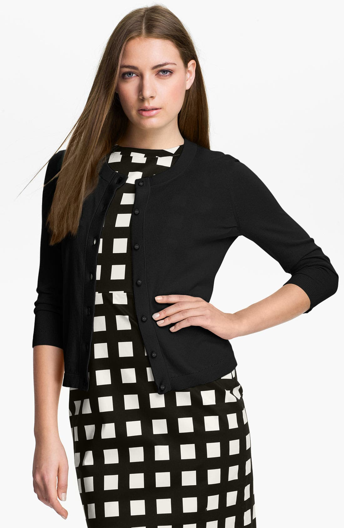 Alternate Image 1 Selected - kate spade new york 'sofia' cashmere blend cardigan