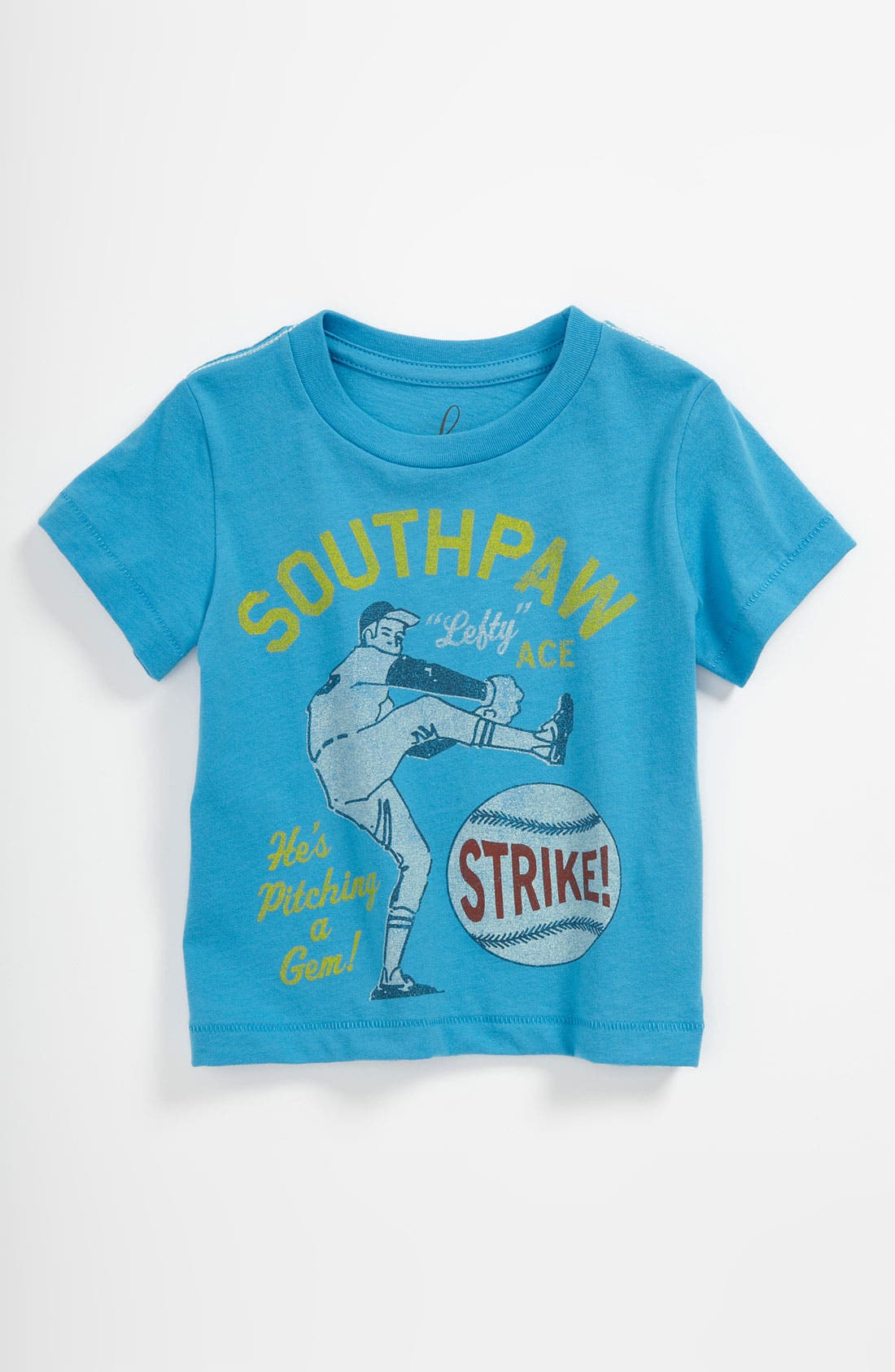 Alternate Image 1 Selected - Peek 'Southpaw' T-Shirt (Baby)