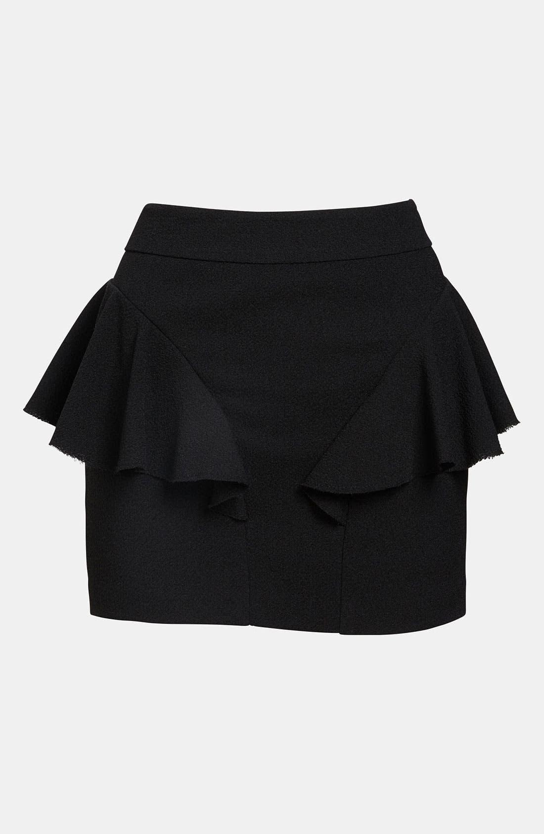 Alternate Image 1 Selected - Tildon Side Ruffle Skirt