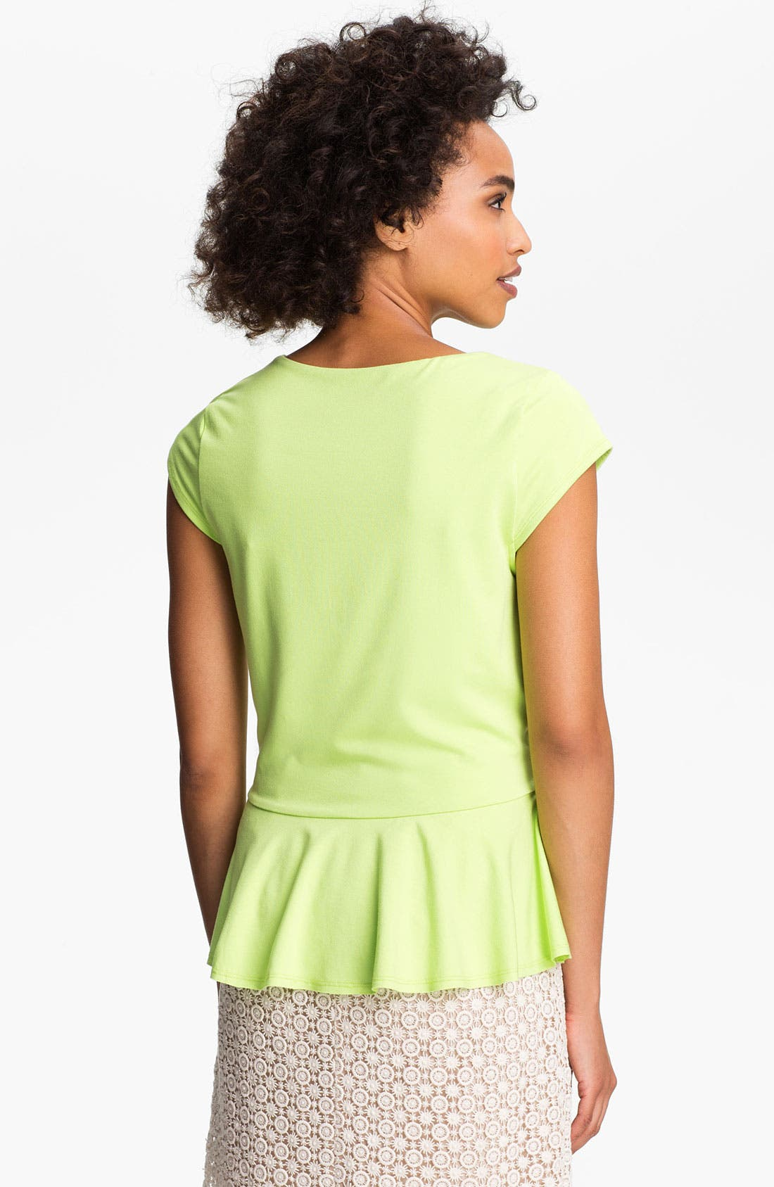 Alternate Image 2  - Vince Camuto Peplum Top