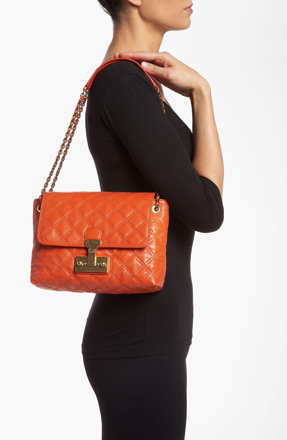 Alternate Image 2  - MARC JACOBS 'Large Baroque Single' Leather Shoulder Bag