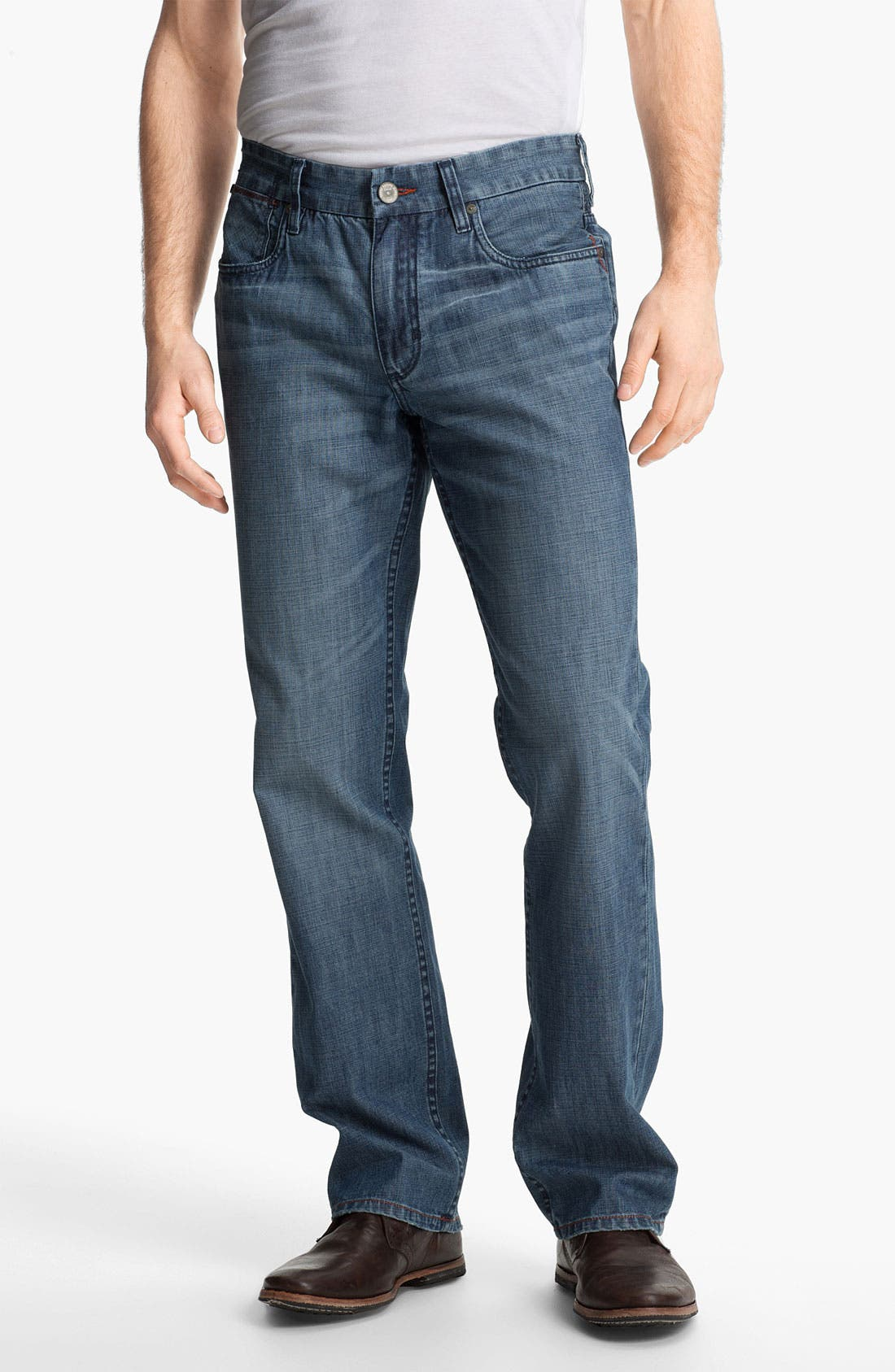 Alternate Image 1 Selected - Tommy Bahama Denim 'Cruz' Authentic Fit Jeans (Medium)