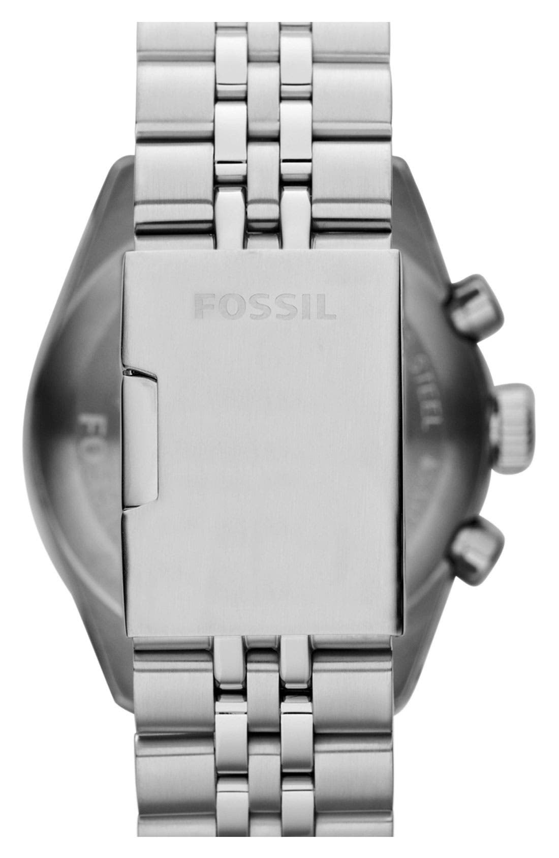 Alternate Image 3  - Fossil 'Edition Sport' Chronograph Watch, 45mm