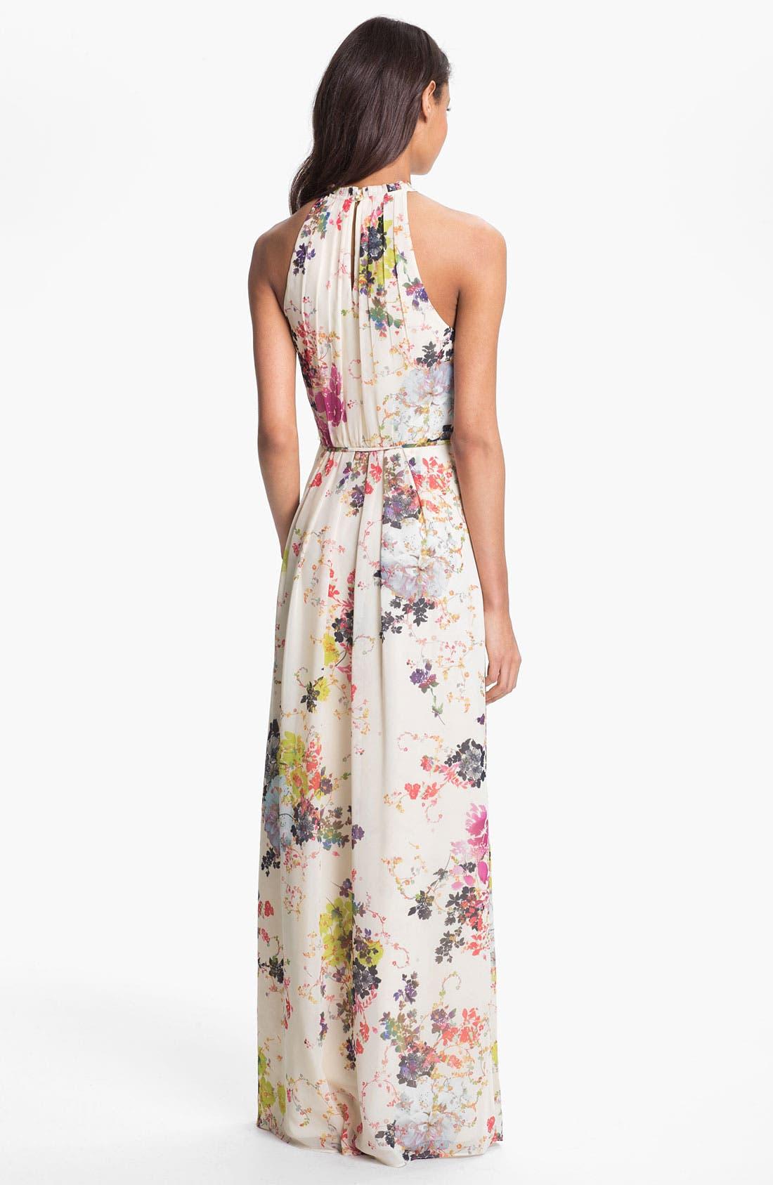 Alternate Image 2  - Ted Baker London 'Summer Bloom' Print Maxi Dress (Online Only)