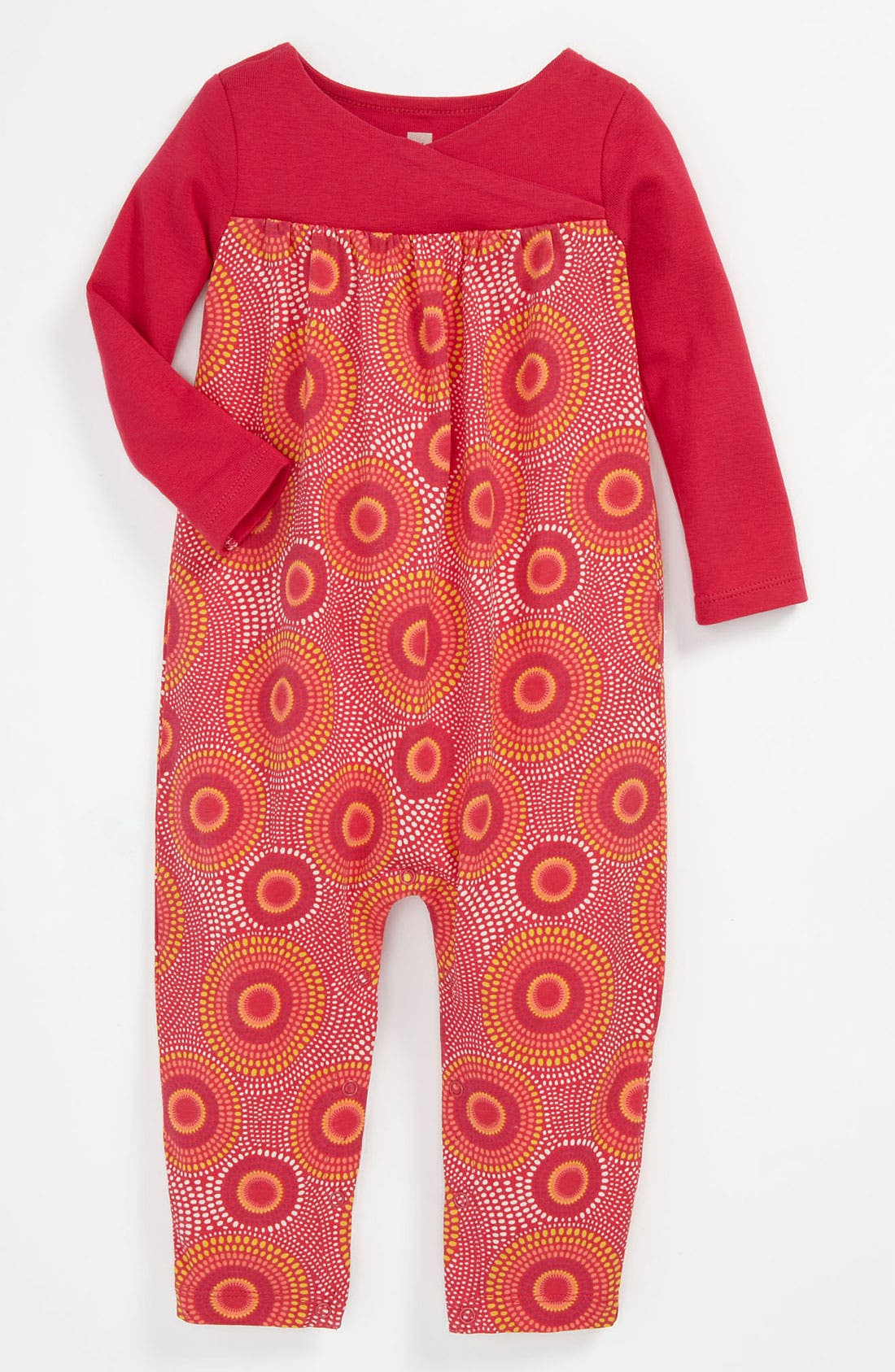 Alternate Image 1 Selected - Tea Collection 'Elim' Coveralls (Baby)