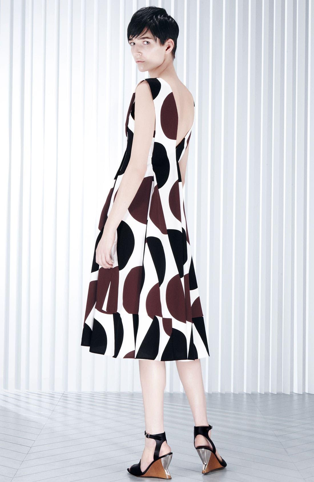 Alternate Image 4  - Marni Large Dot Print Pleated Dress