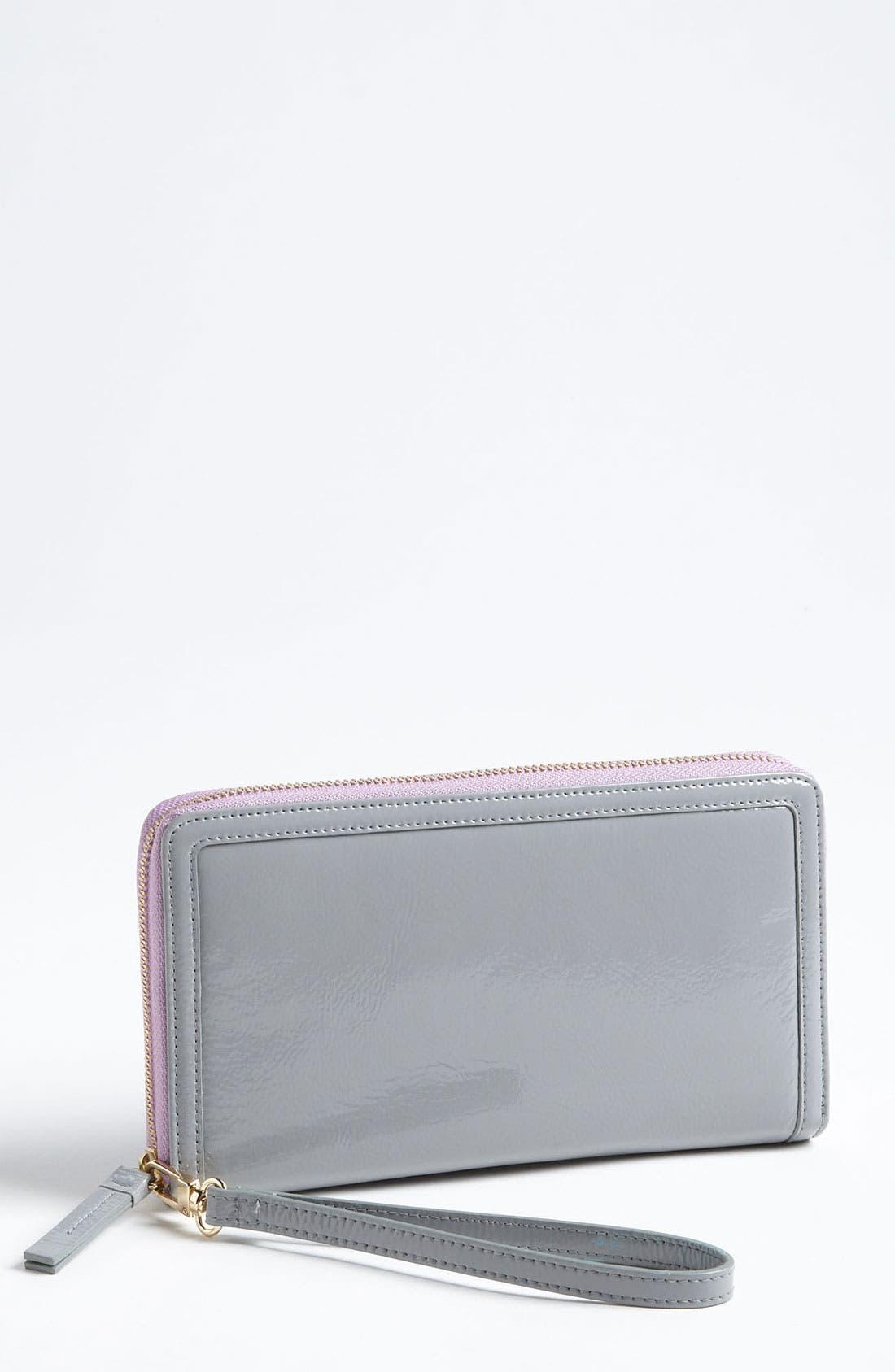 Main Image - Halogen Zip Around Wallet
