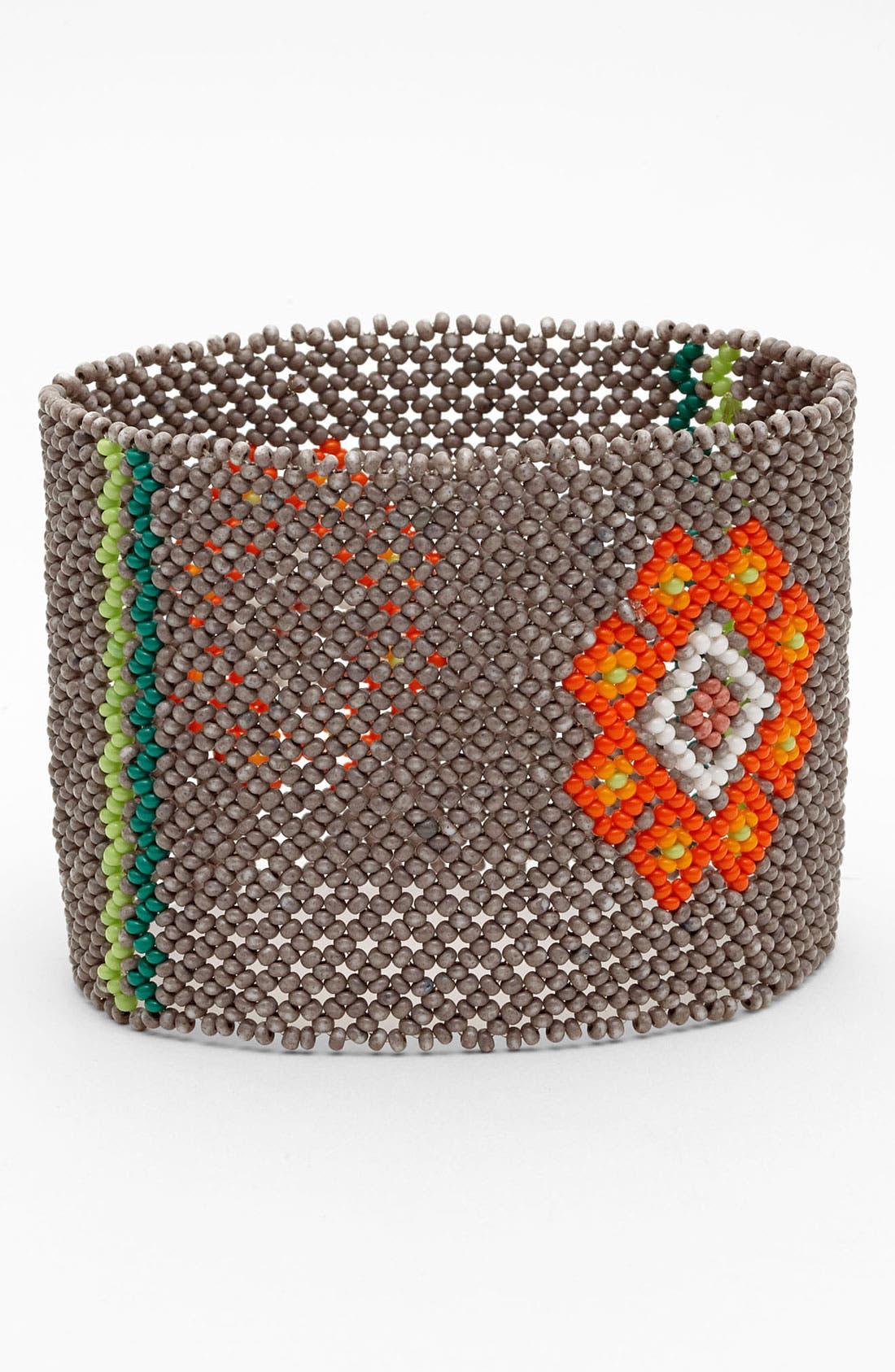 Alternate Image 1 Selected - Chan Luu Glass Bead Cuff