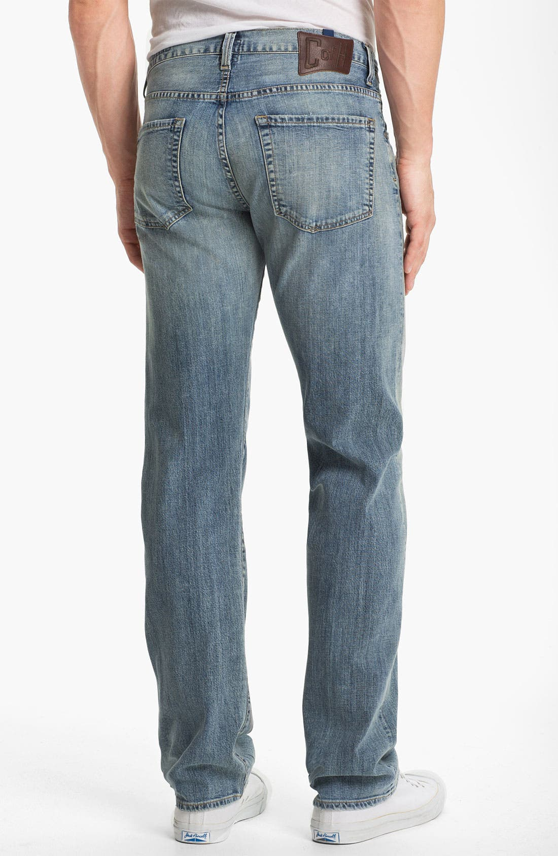 Alternate Image 2  - Citizens of Humanity 'Sid Selvage' Straight Leg Jeans (Lukas Wash)