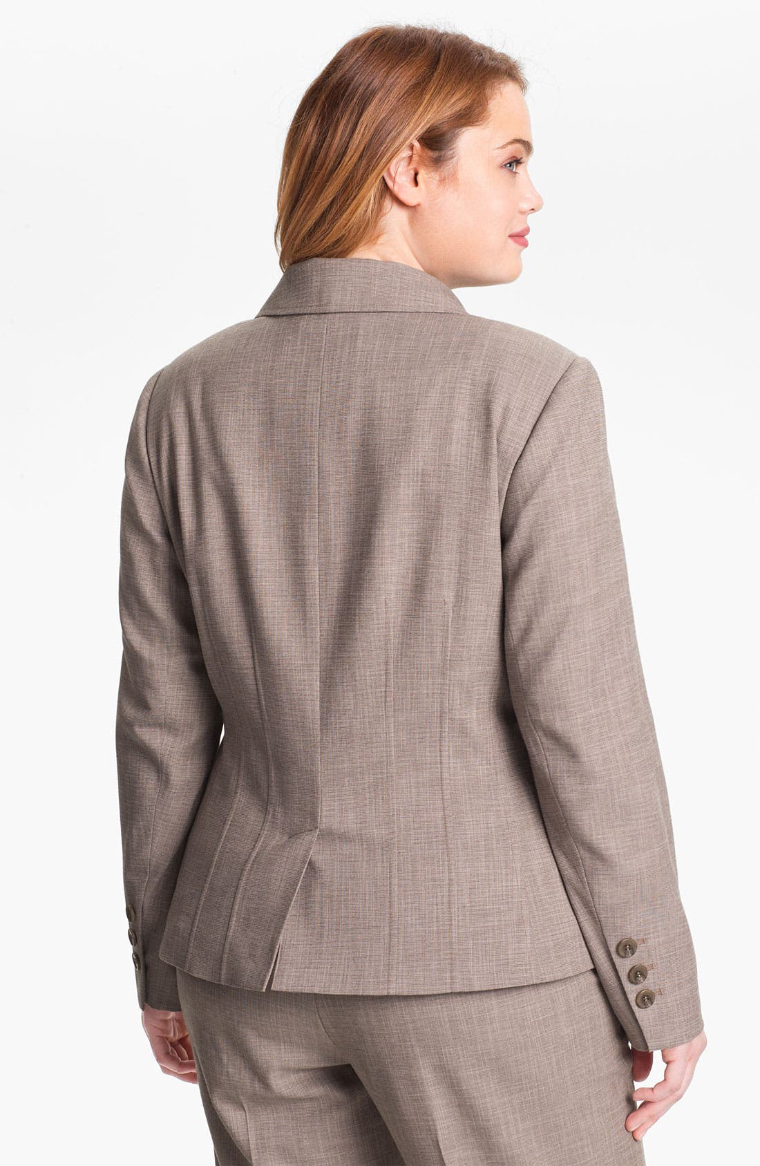 Alternate Image 2  - Sejour 'Metric' Suit Jacket (Plus Size)