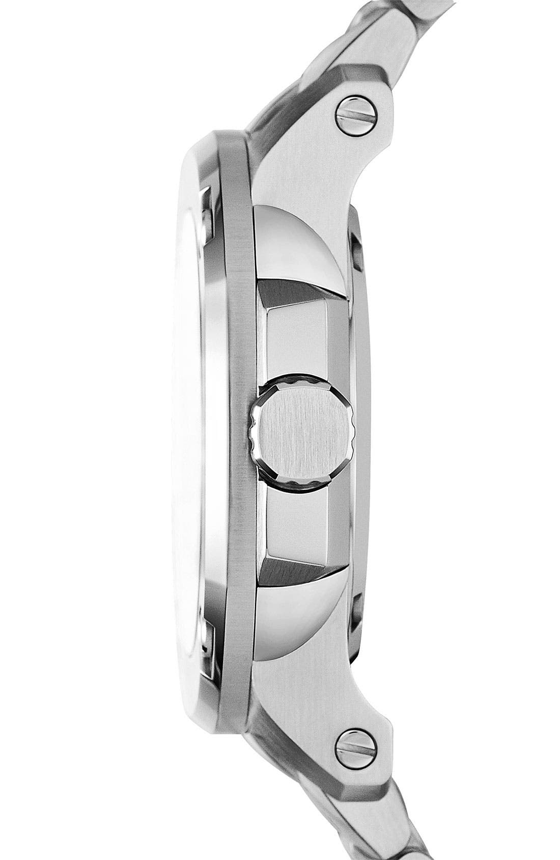 Alternate Image 3  - Burberry The Britain Automatic Bracelet Watch, 38mm