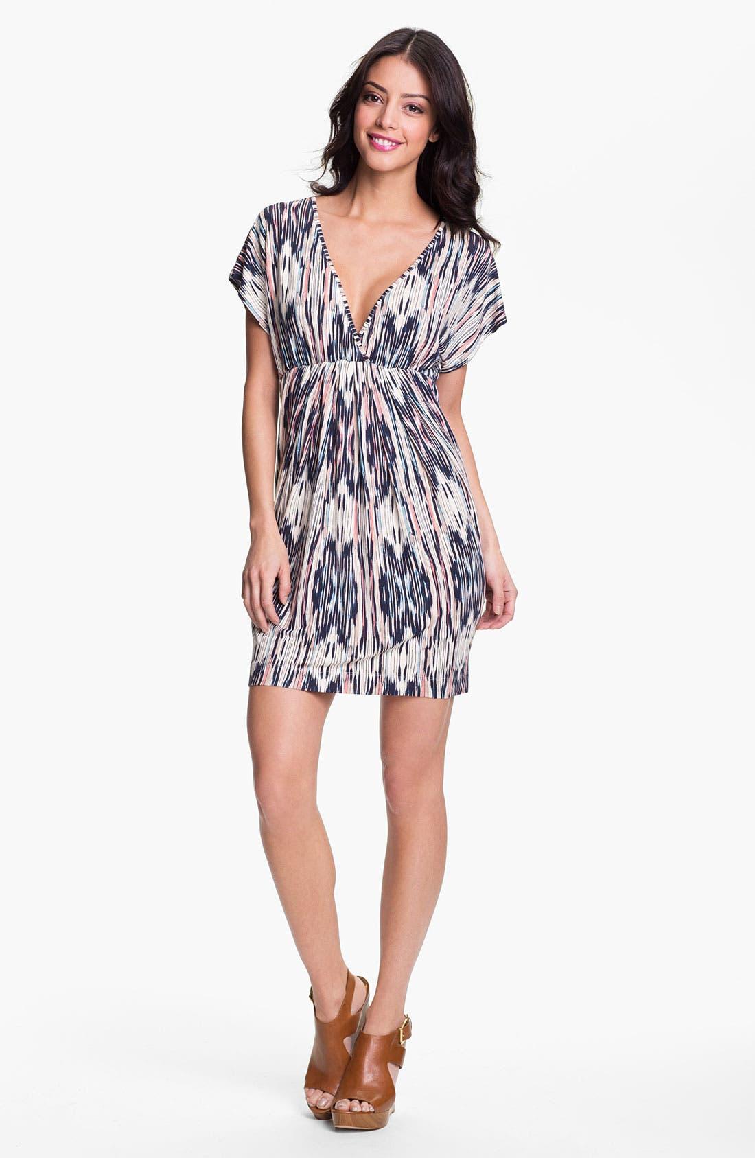 Alternate Image 1 Selected - Tart 'Reese' Print V-Neck Dress