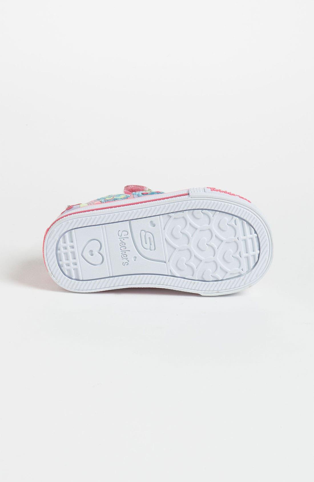 Alternate Image 4  - SKECHERS 'Twinkle Toes - Shuffles' Sneaker (Walker & Toddler)