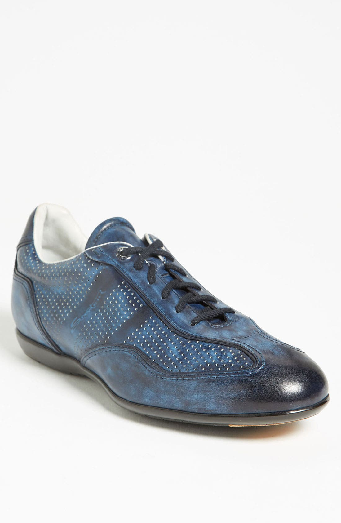 Alternate Image 1 Selected - Santoni 'Striper' Sneaker (Men)