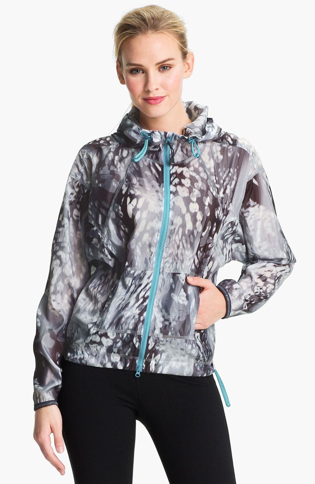 Alternate Image 1 Selected - Zella 'Sprint' Print Jacket