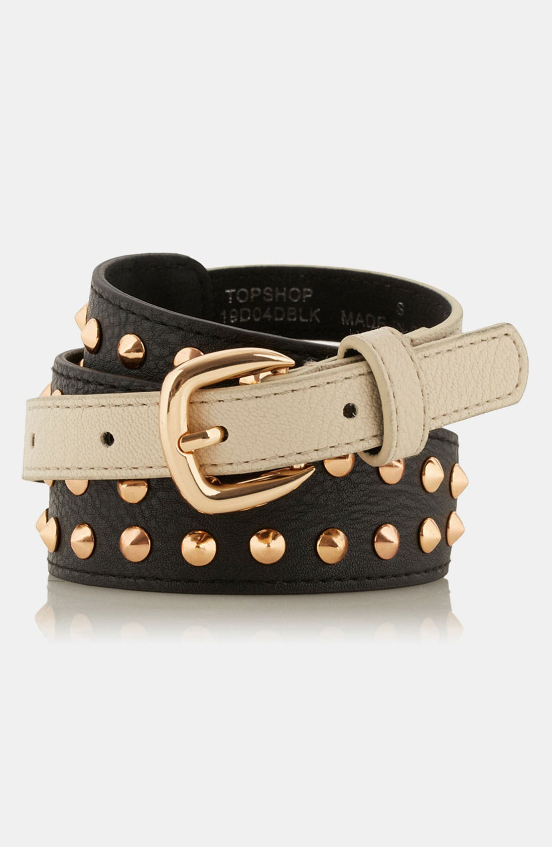Alternate Image 2  - Topshop Studded Belt