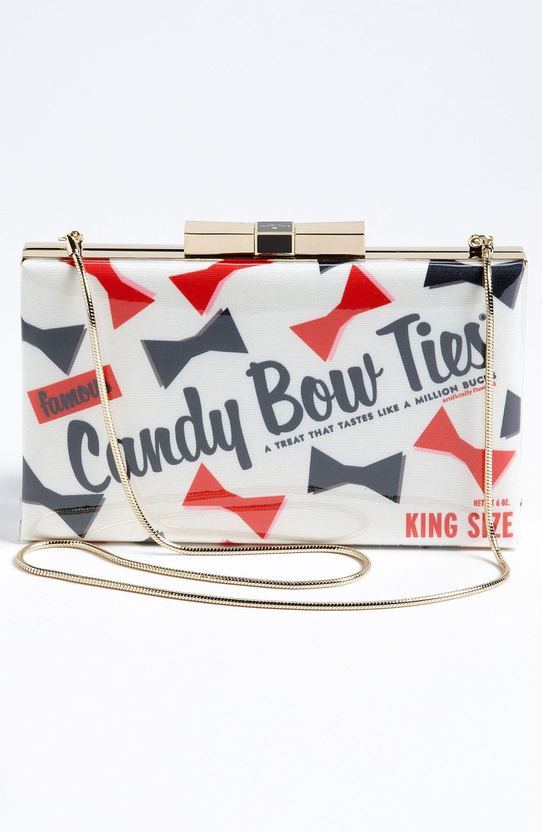 Alternate Image 4  - kate spade new york 'little ribbon - samira' clutch