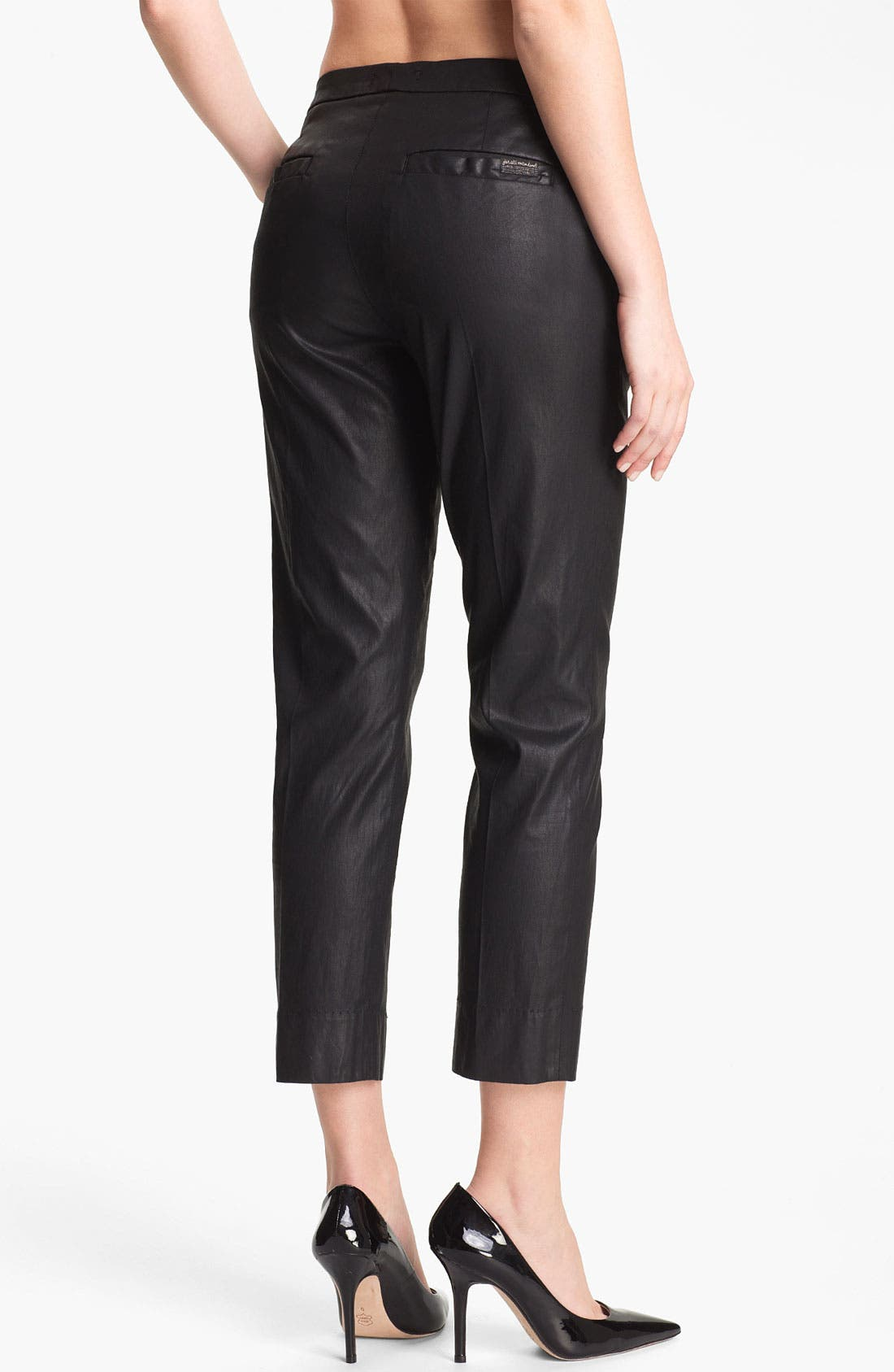 Alternate Image 2  - 7 For All Mankind® Coated Slim Chinos
