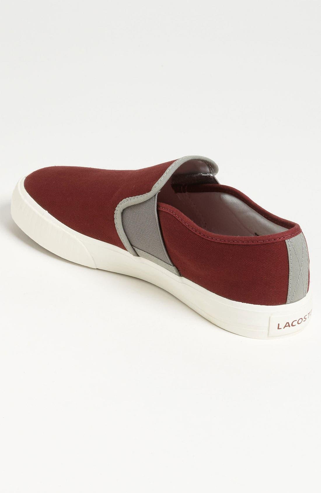 Alternate Image 2  - Lacoste 'Lombardcre' Slip-On