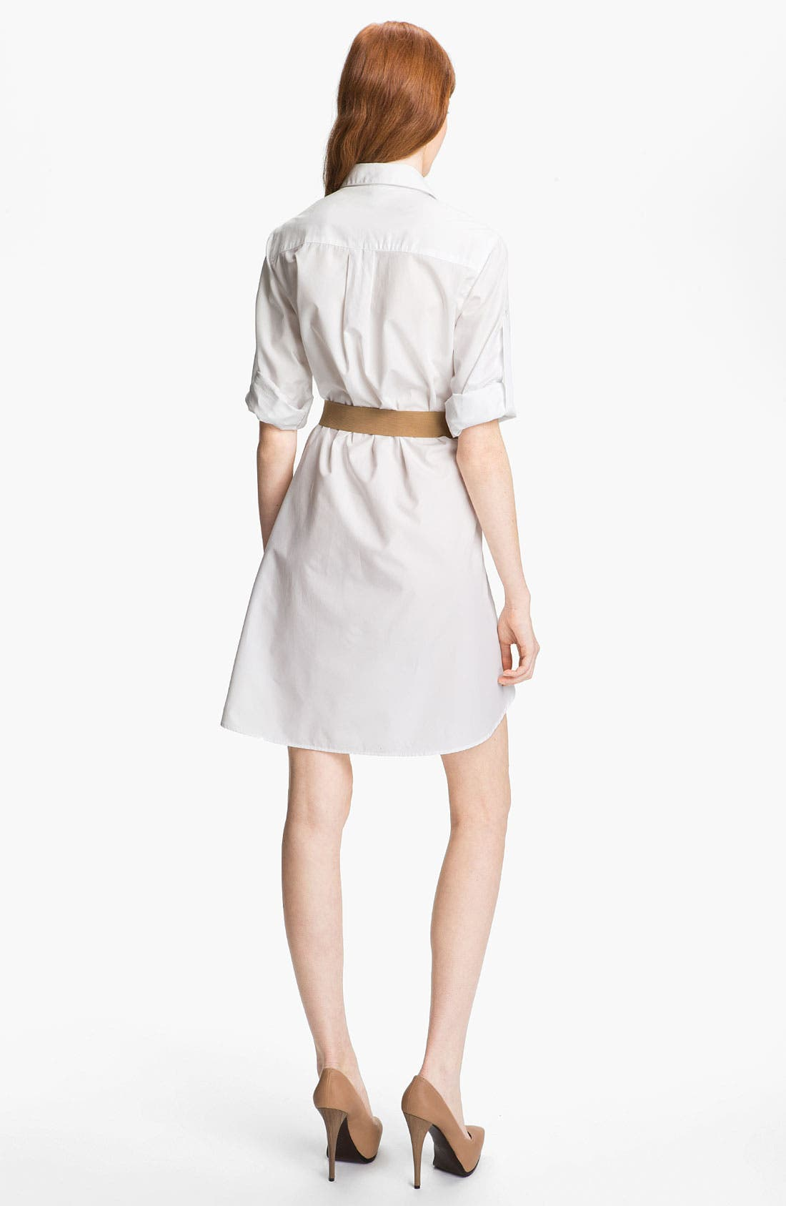 Alternate Image 3  - Halston Heritage Belted Shirtdress